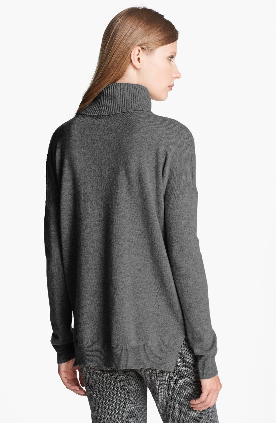 Alternate Image 2  - Theory 'Aldanta' Cashmere Turtleneck