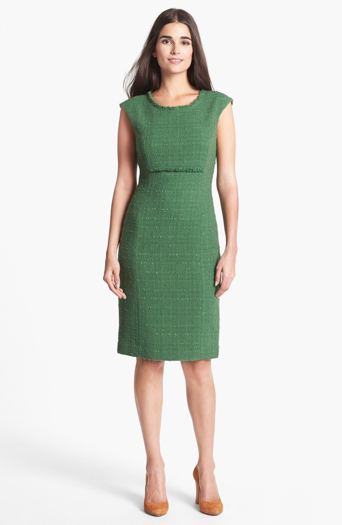 Main Image - Santorelli Tweed Sheath Dress