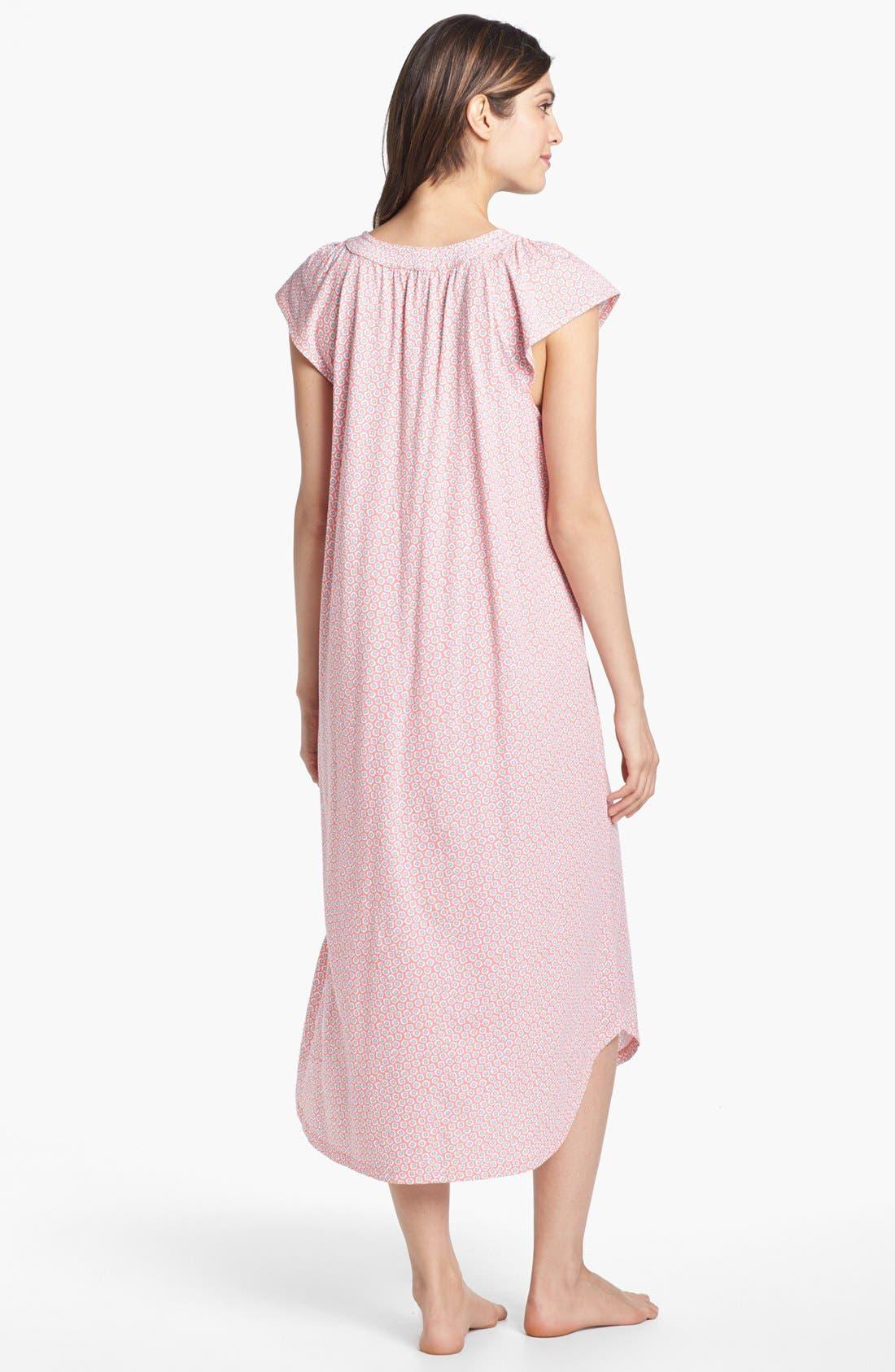 Alternate Image 2  - Carole Hochman Designs 'Garden Delights' Nightgown