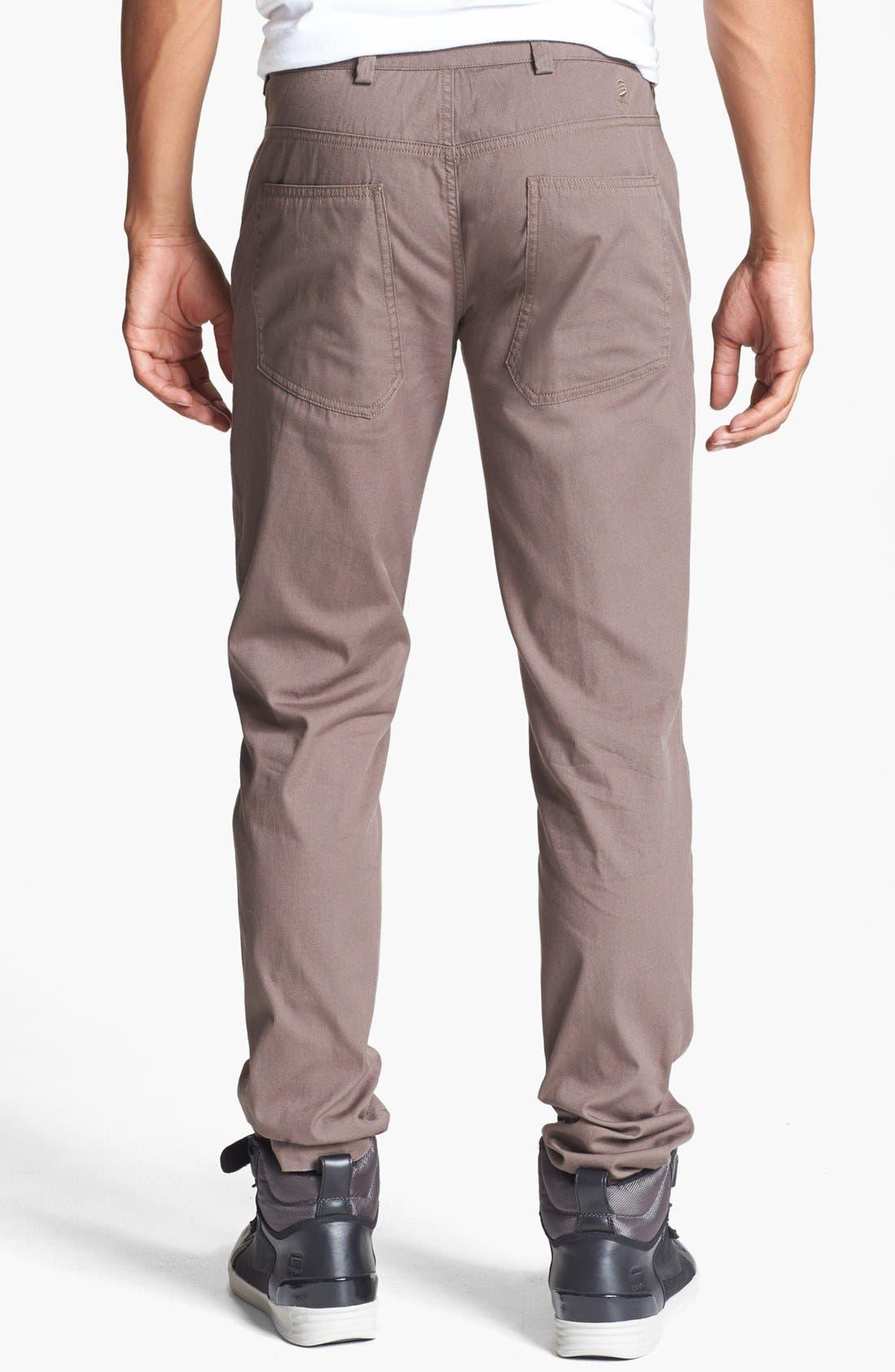 Alternate Image 2  - adidas SLVR Slim Pants