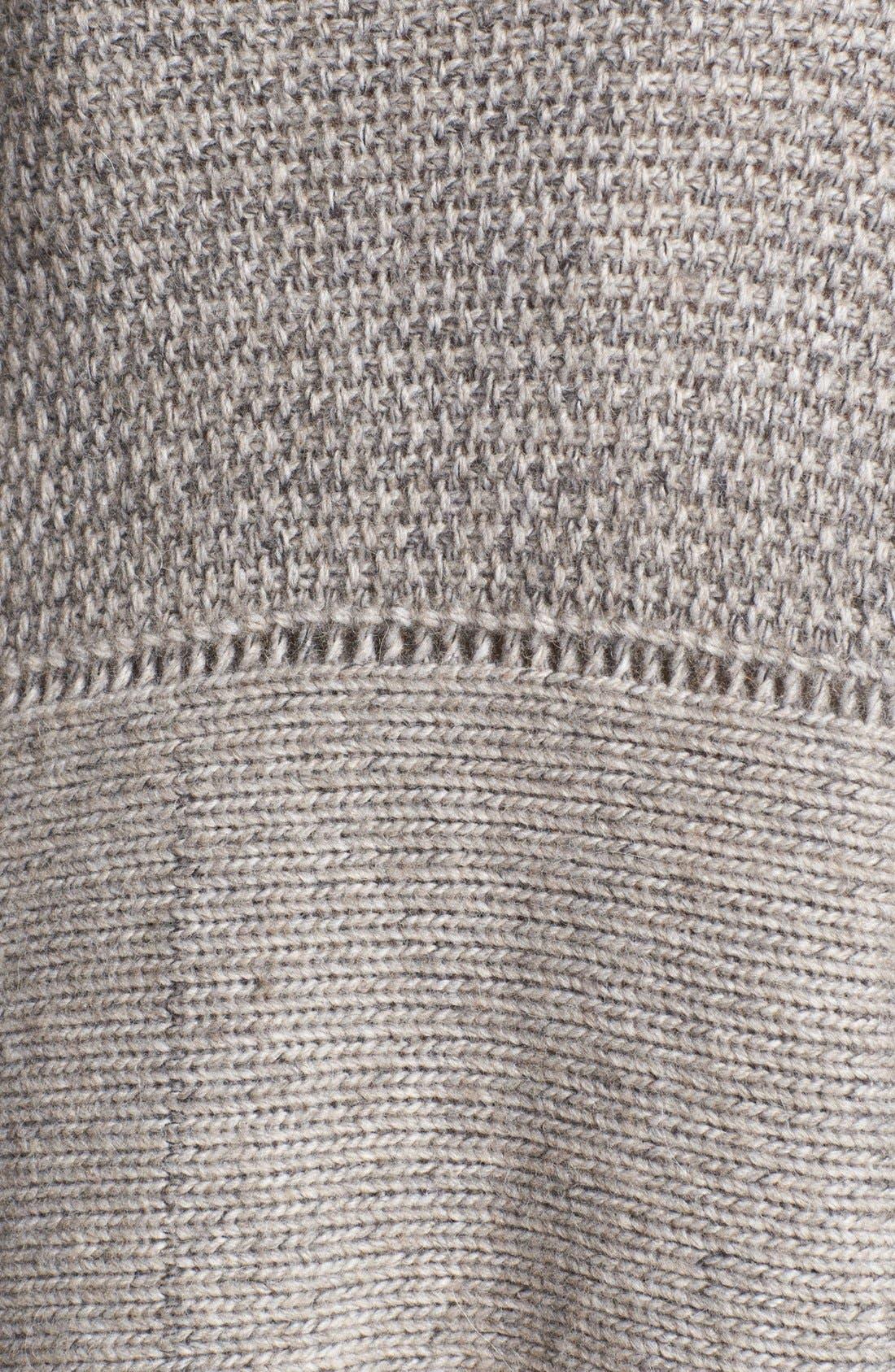 Alternate Image 3  - Helmut Lang Novelty Knit Poncho Sweater
