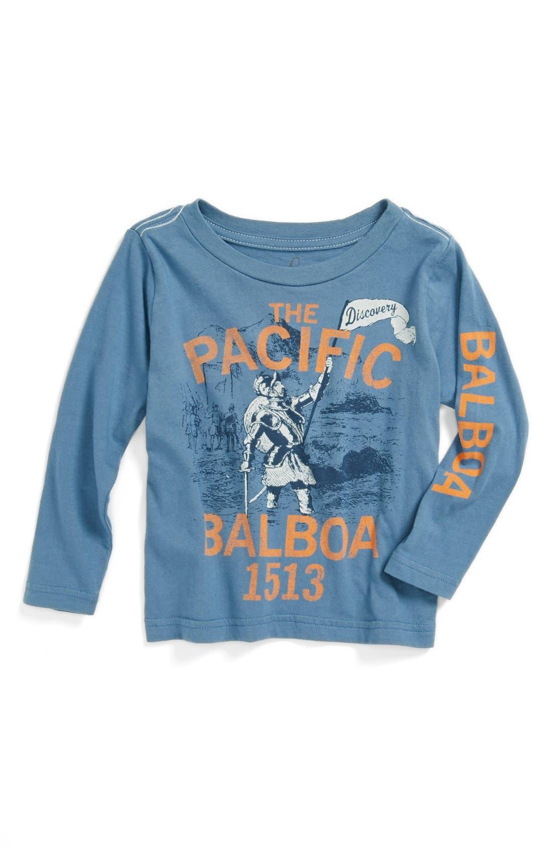 Alternate Image 1 Selected - Peek 'Balboa' Long Sleeve T-Shirt (Baby Boys)