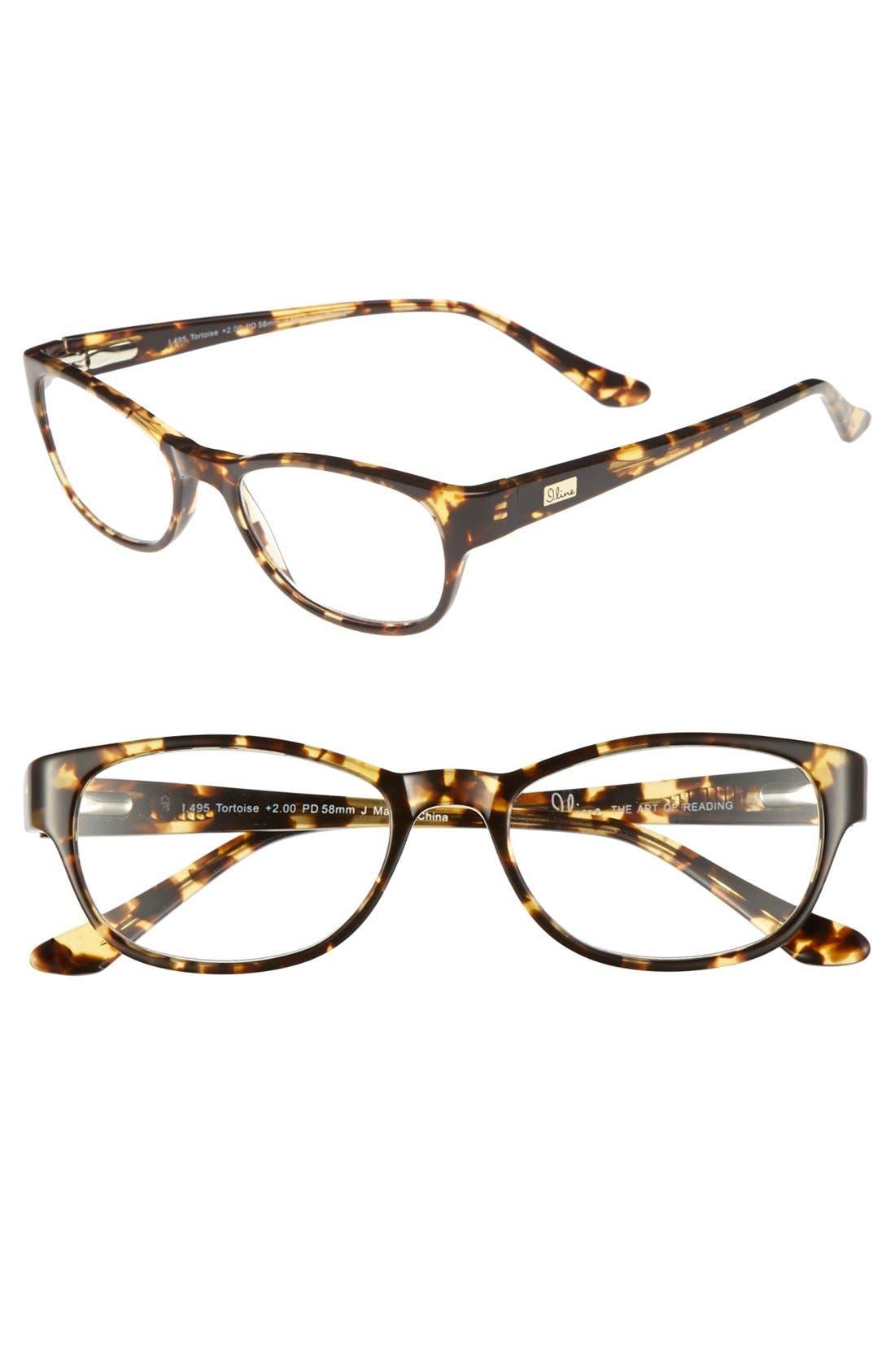 Alternate Image 1 Selected - I Line Eyewear 50mm Reading Glasses