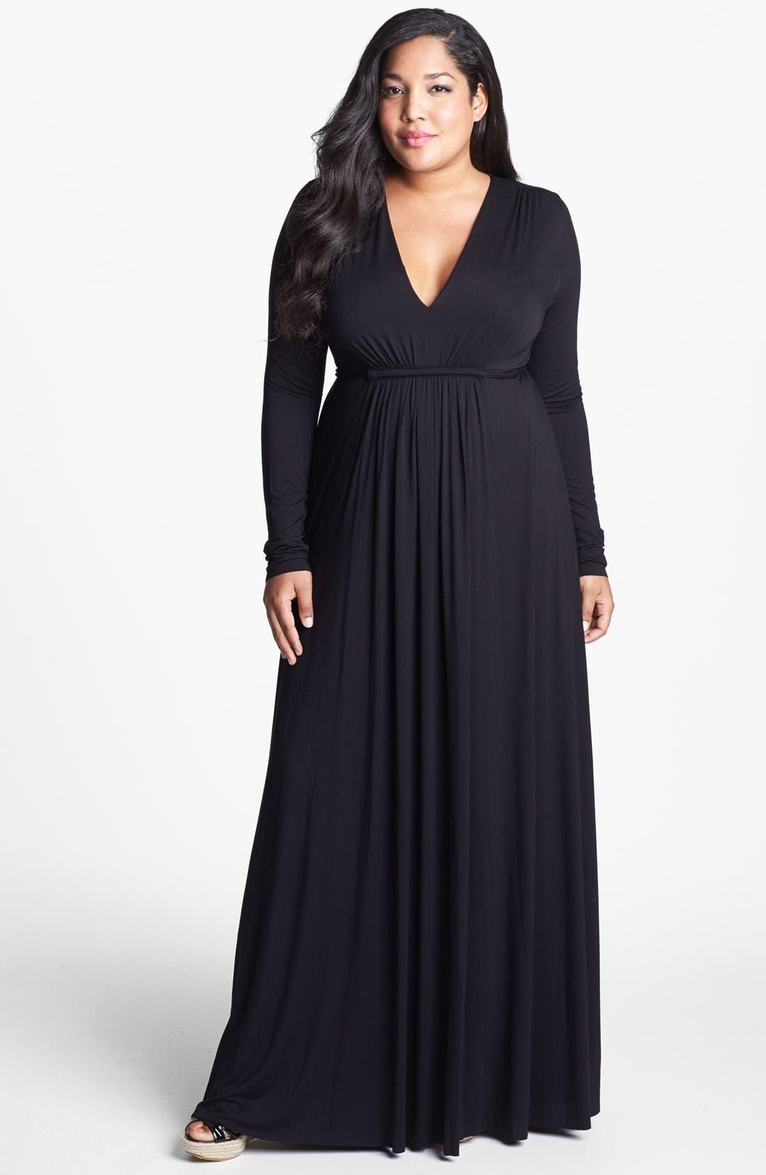 Alternate Image 1 Selected - Rachel Pally Caftan Maxi Dress (Plus Size)