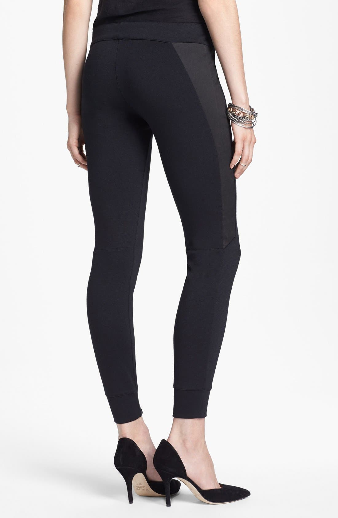 Alternate Image 2  - Free People Moleskin Leggings