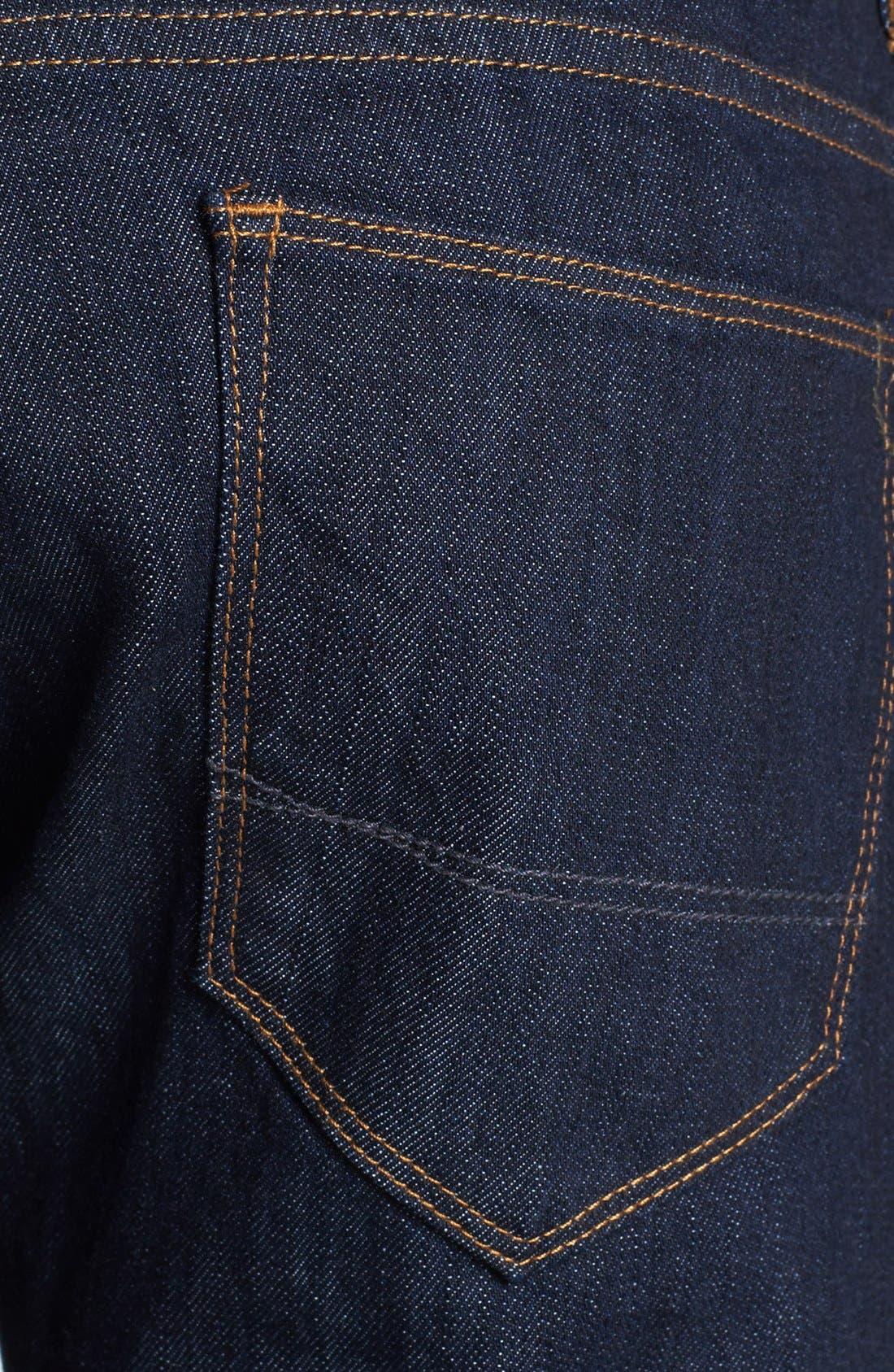 Alternate Image 4  - Tommy Bahama 'Walker' Straight Leg Jeans (Dark Storm)