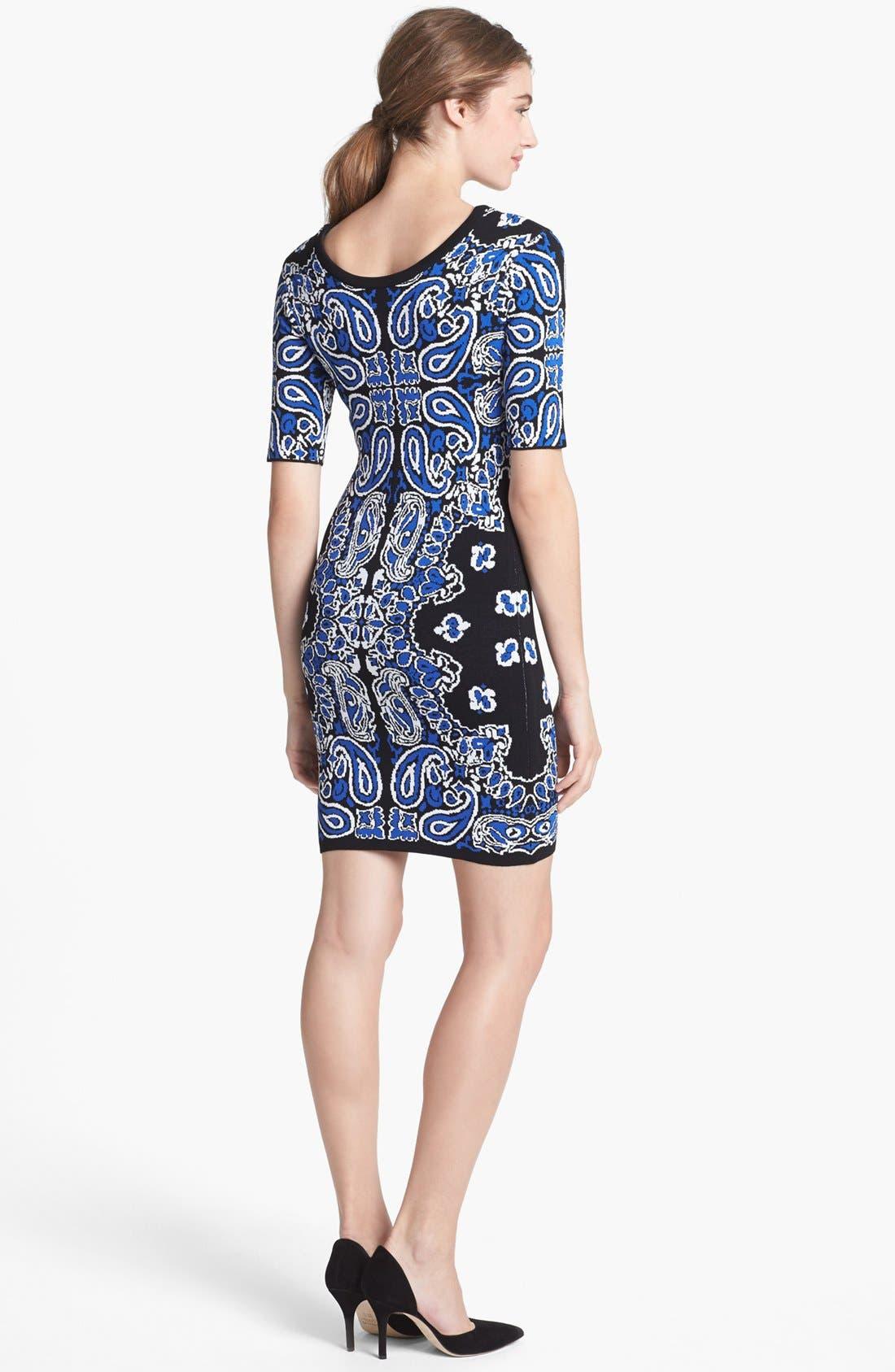 Alternate Image 2  - Felicity & Coco Body-Con Sweater Dress (Nordstrom Exclusive)