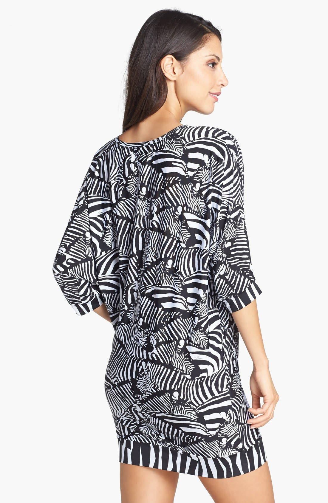 Alternate Image 2  - Trina Turk Zebra Print Tunic