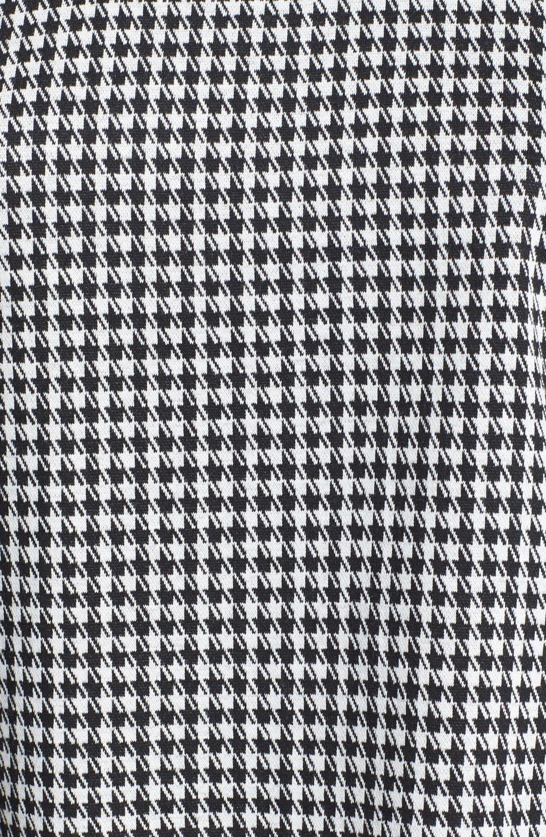 Alternate Image 3  - Tildon Houndstooth Open Back Sweatshirt