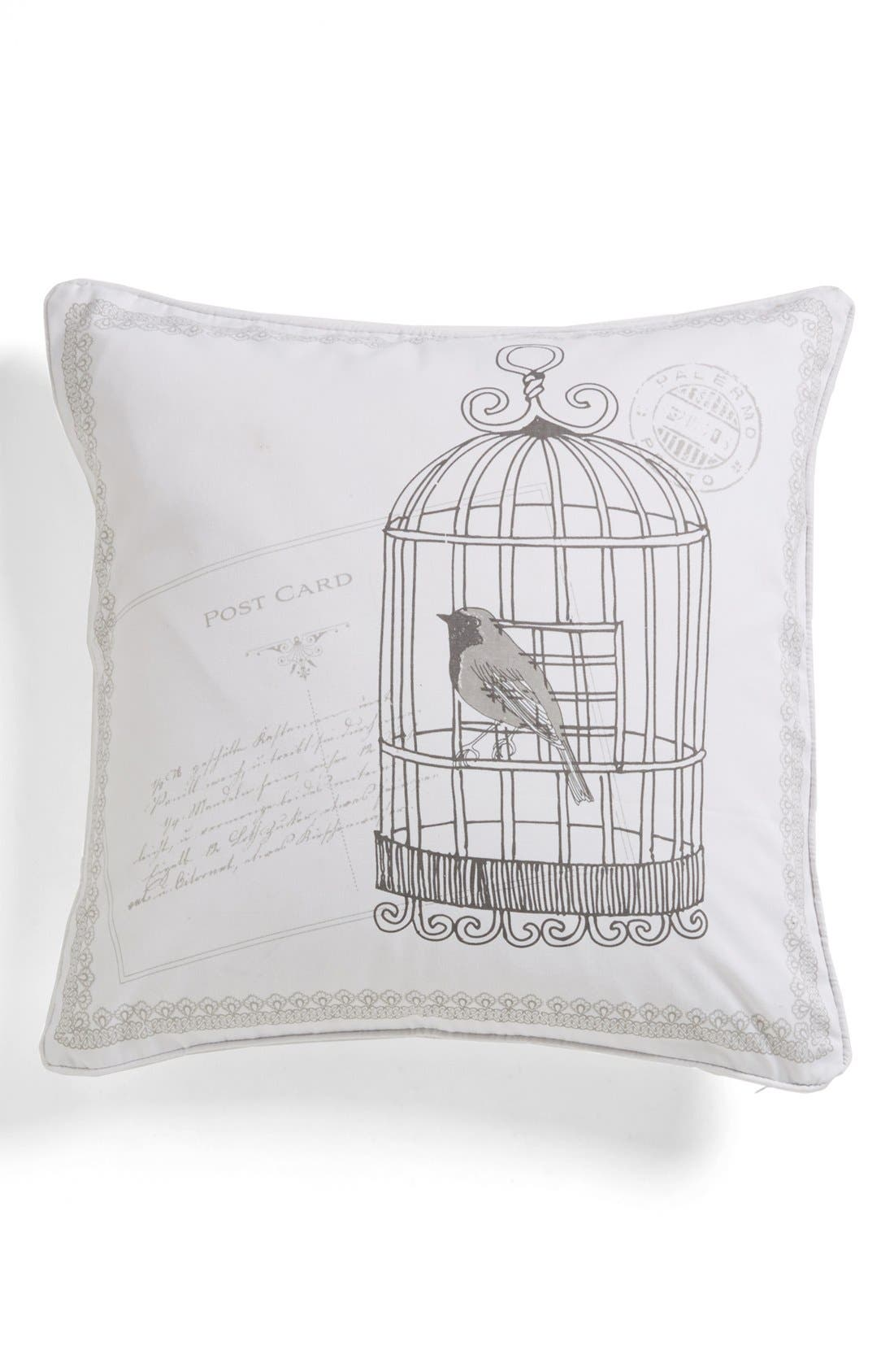Alternate Image 1 Selected - Levtex 'Hemingway' Birdcage Pillow