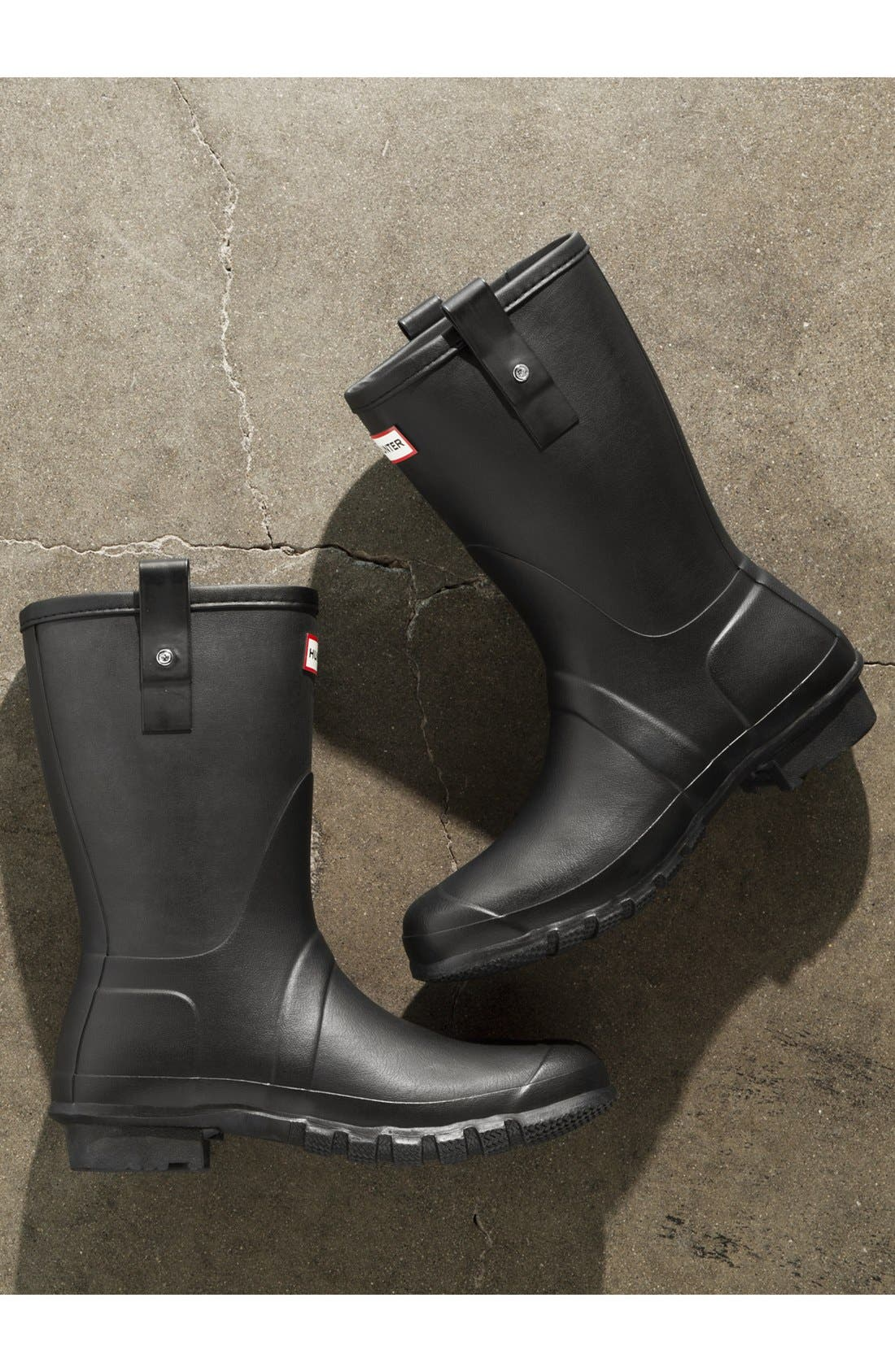 Alternate Image 5  - Hunter 'Original Short' Rain Boot (Men)