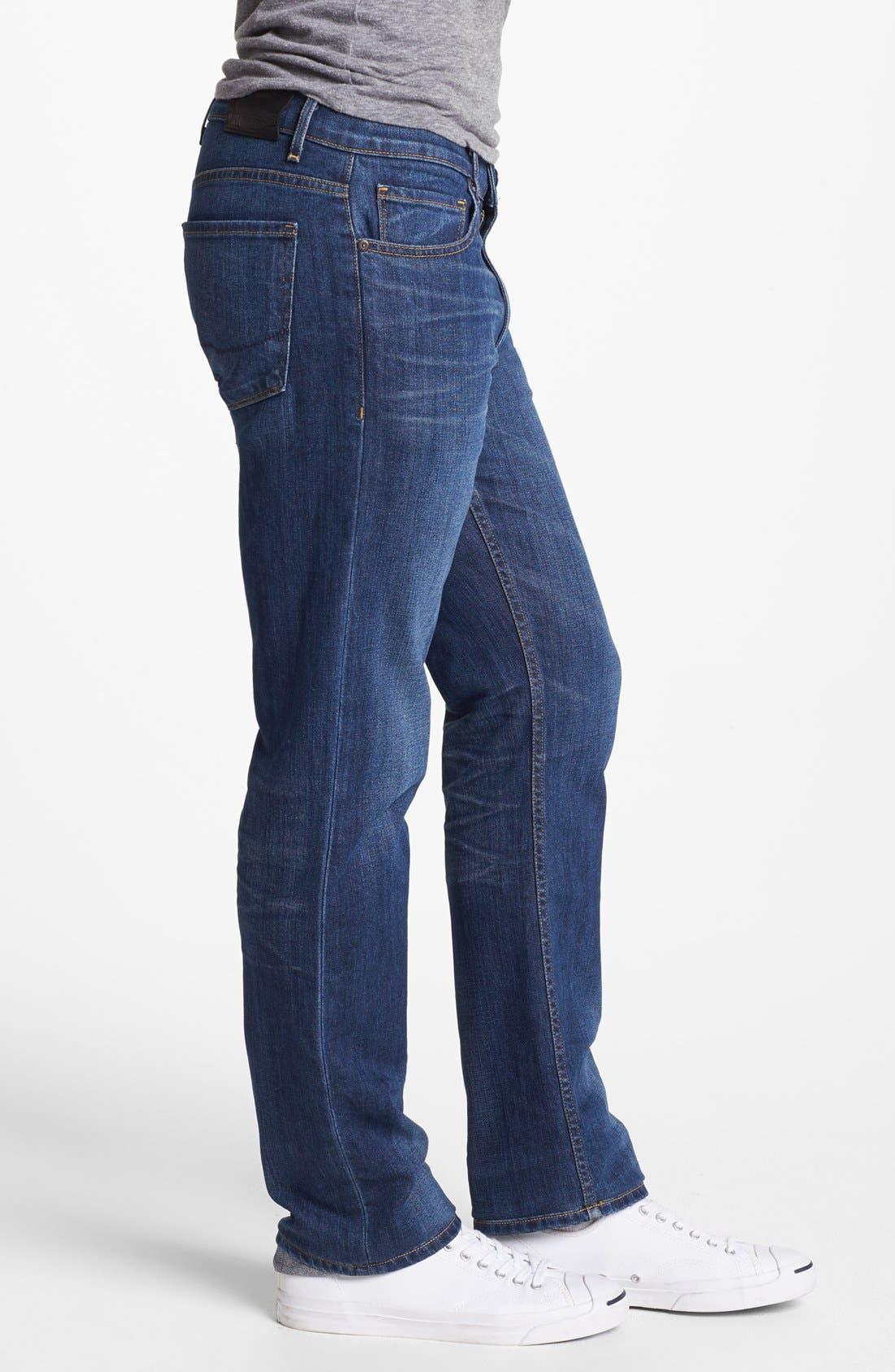Alternate Image 3  - PAIGE 'Normandie' Slim Fit Jeans (Knuckle)