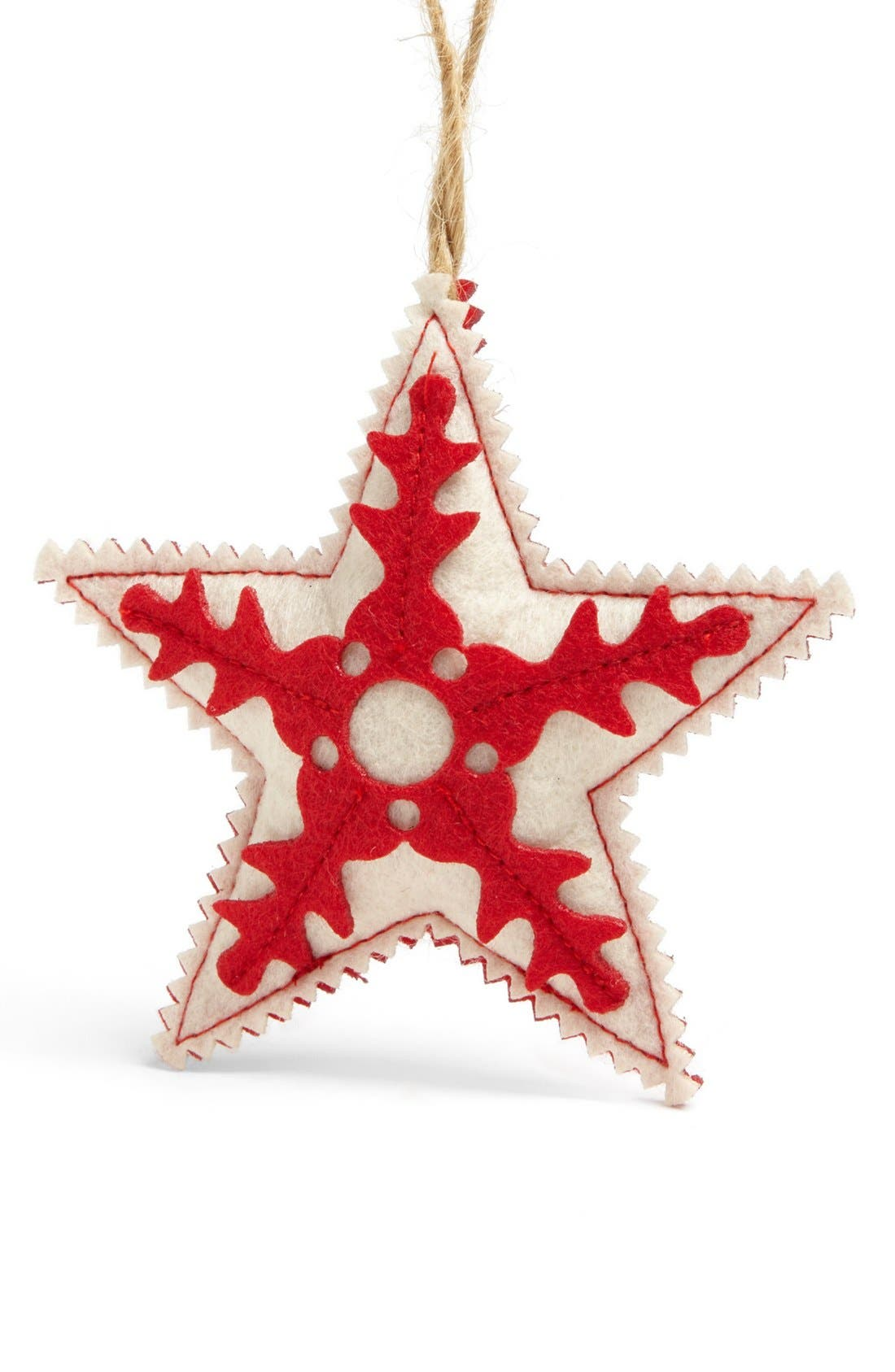 Alternate Image 1 Selected - Nordstrom at Home Felt Star Ornament