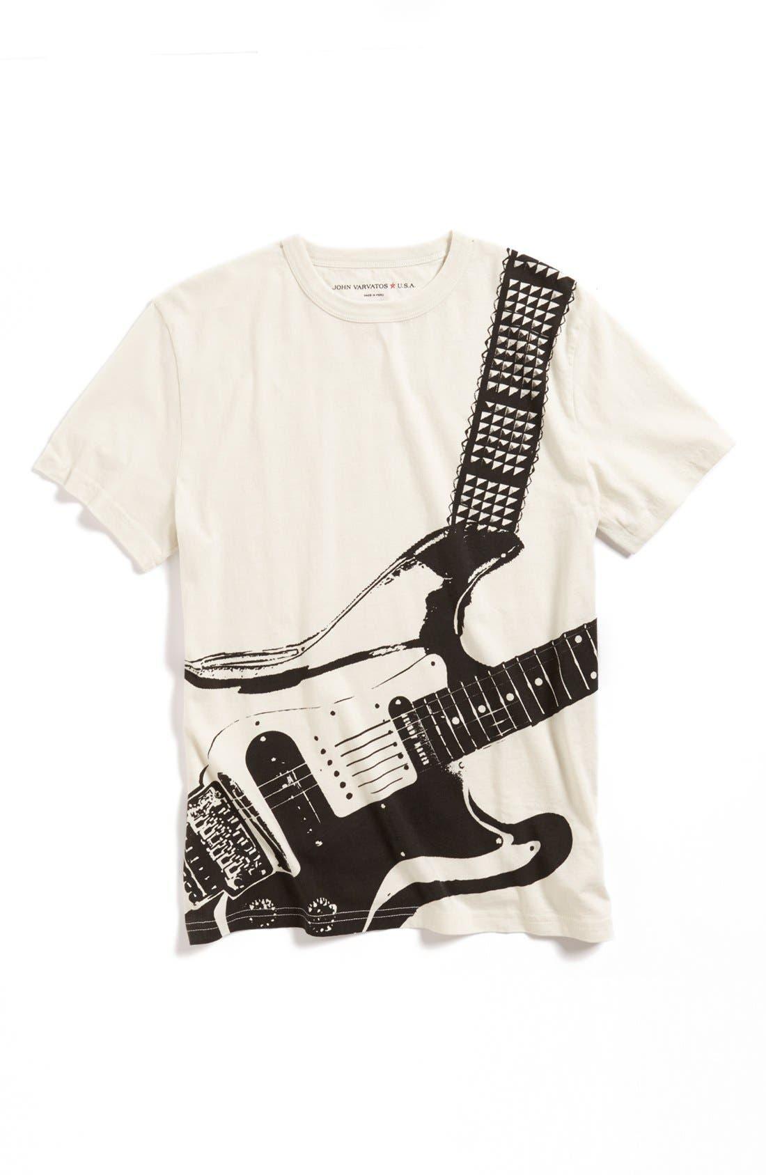 Alternate Image 1 Selected - John Varvatos Star USA 'Guitar' T-Shirt (Boys)