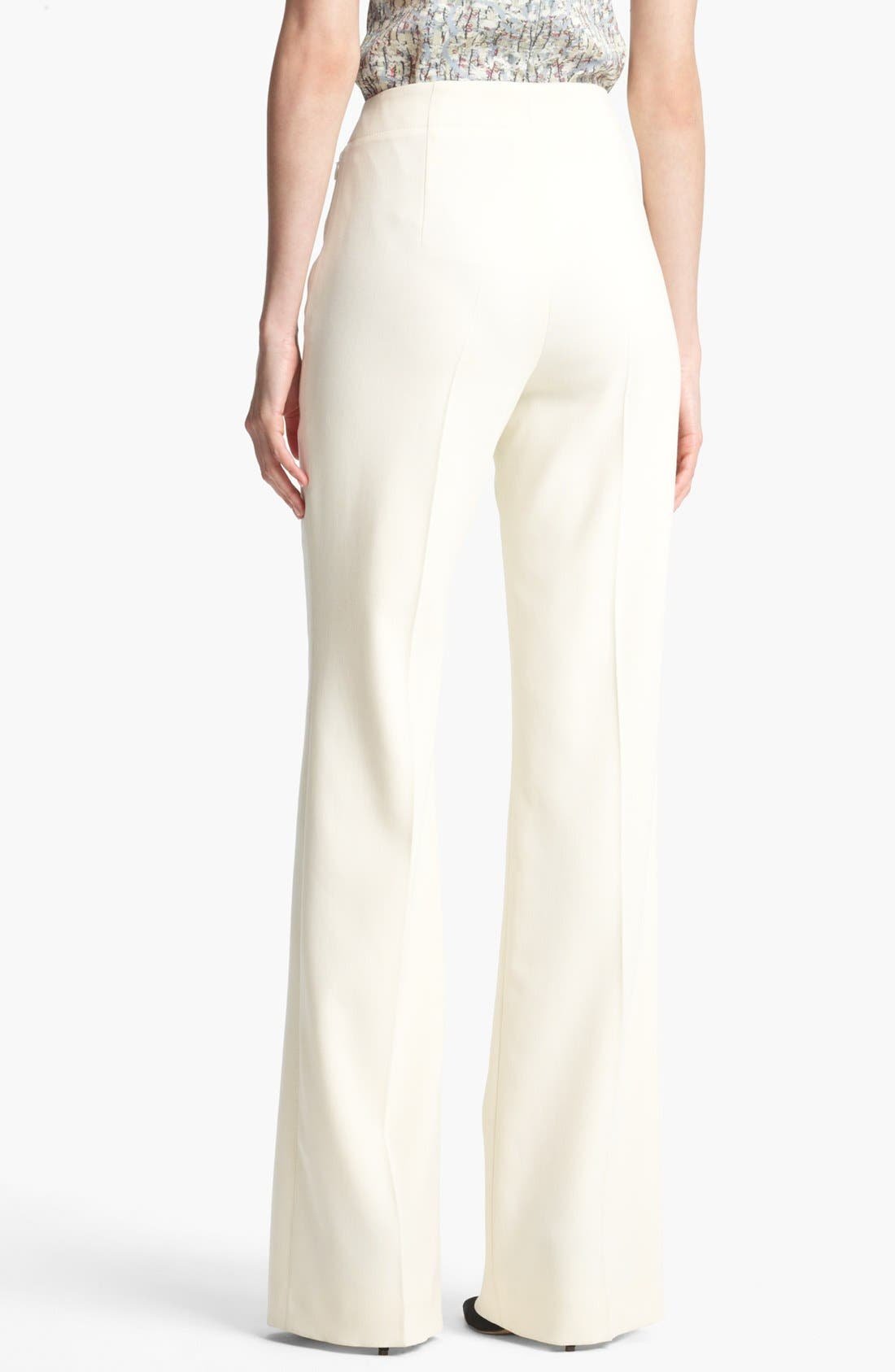 Alternate Image 2  - ESCADA 'Columbo' Wide Leg Stretch Wool Pants