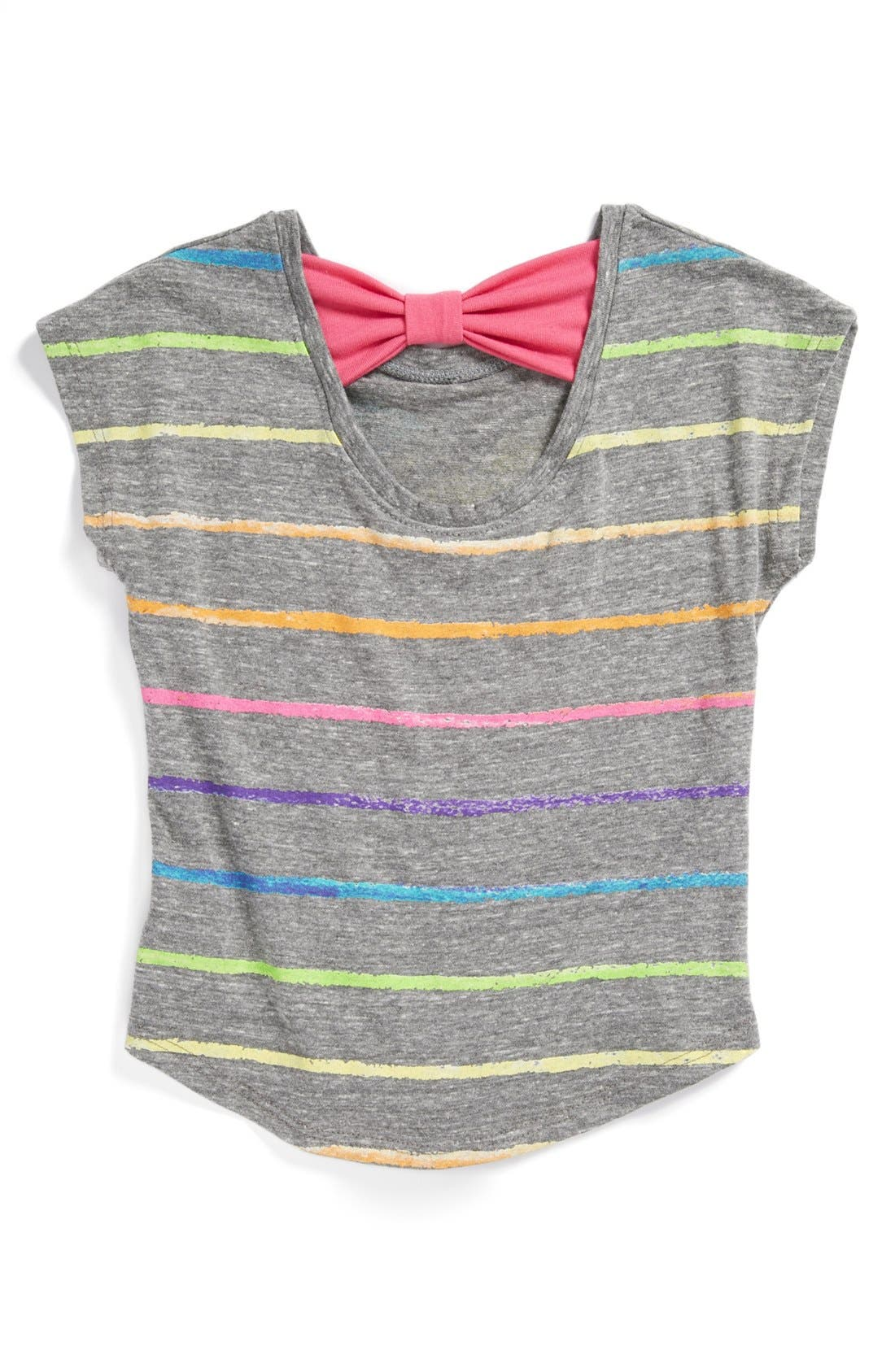 Alternate Image 2  - Mighty Fine 'Crayon Heart' Tee (Toddler Girls)