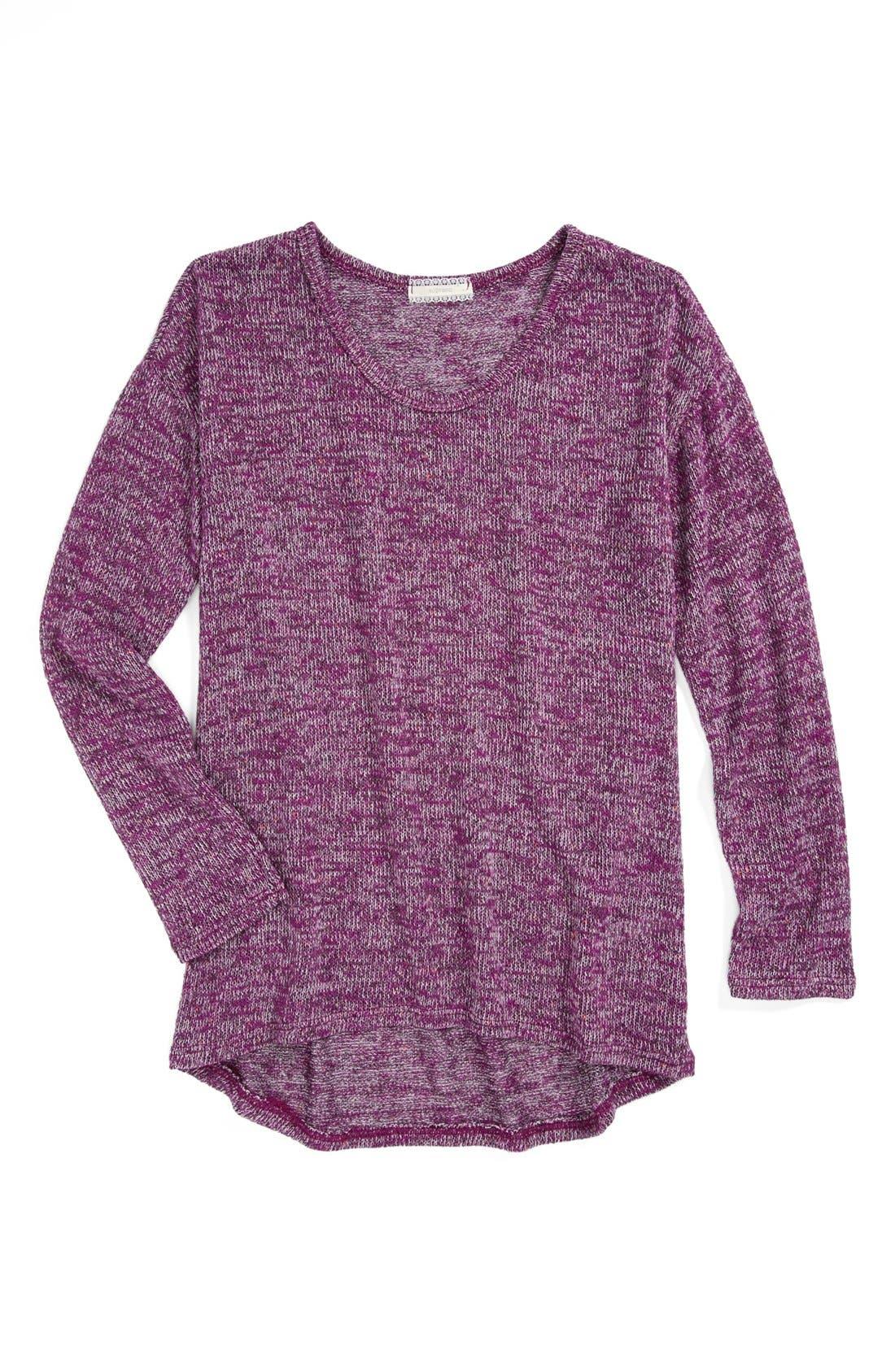 Alternate Image 1 Selected - Soprano Sweater (Little Girls & Big Girls)