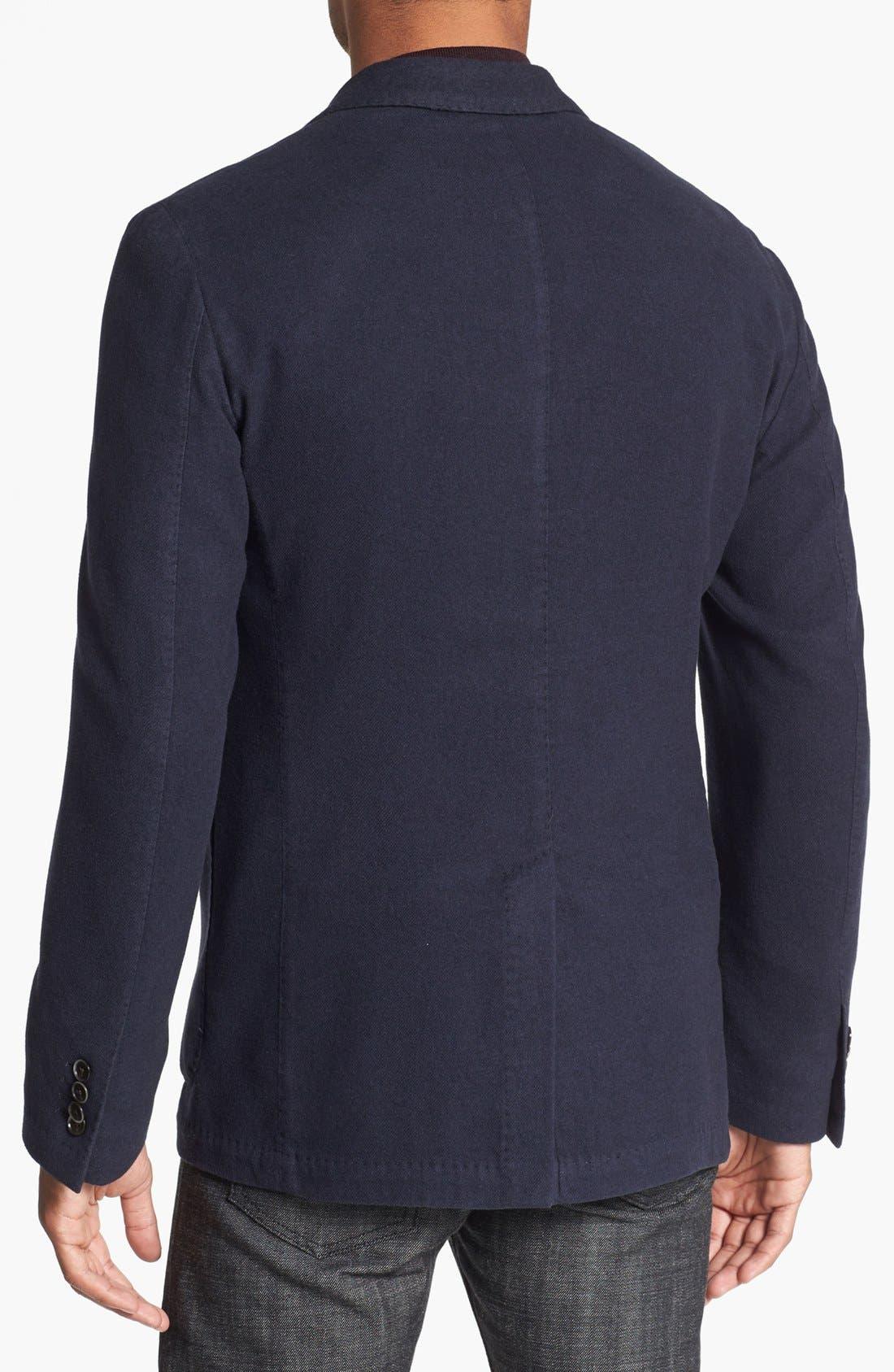 Alternate Image 2  - Canali Silk & Cashmere Sportcoat