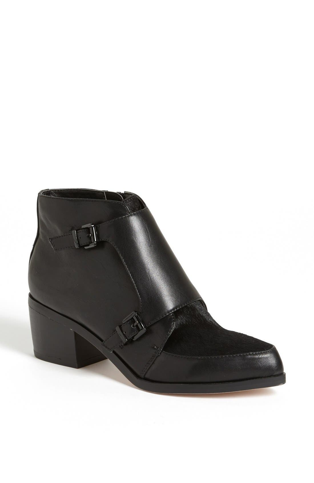 Alternate Image 1 Selected - Topshop 'Acute' Monk Strap Bootie