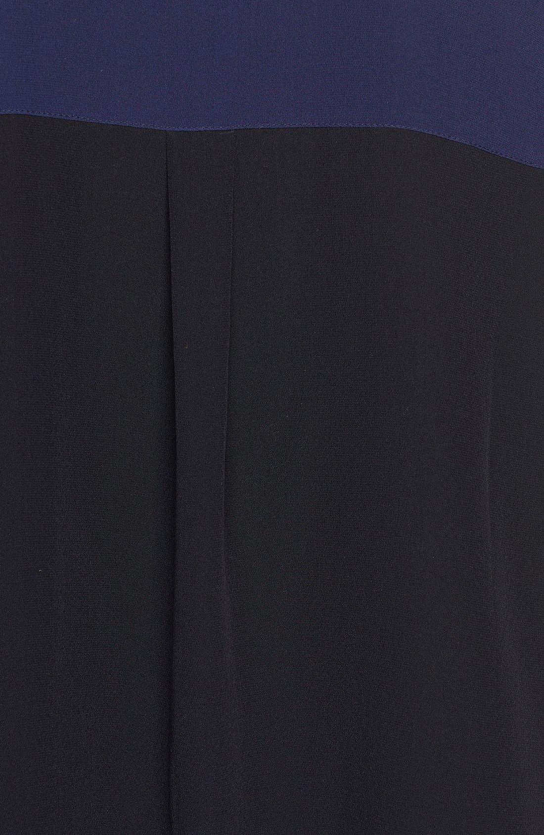 Alternate Image 3  - Eileen Fisher Mandarin Collar Silk Shirt (Online Exclusive)
