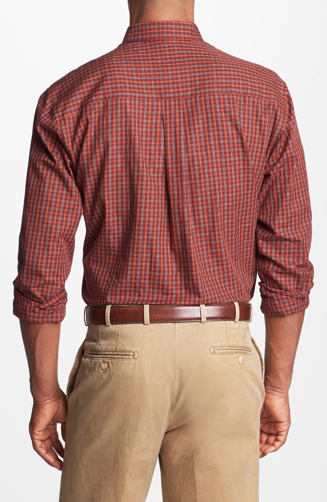 Alternate Image 2  - Cutter & Buck 'Nickerson' Regular Fit Sport Shirt (Big & Tall)
