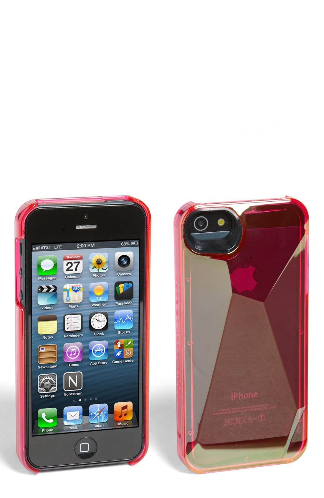 Alternate Image 1 Selected - MARC BY MARC JACOBS 'Metallic 3D' iPhone 5 & 5s Case