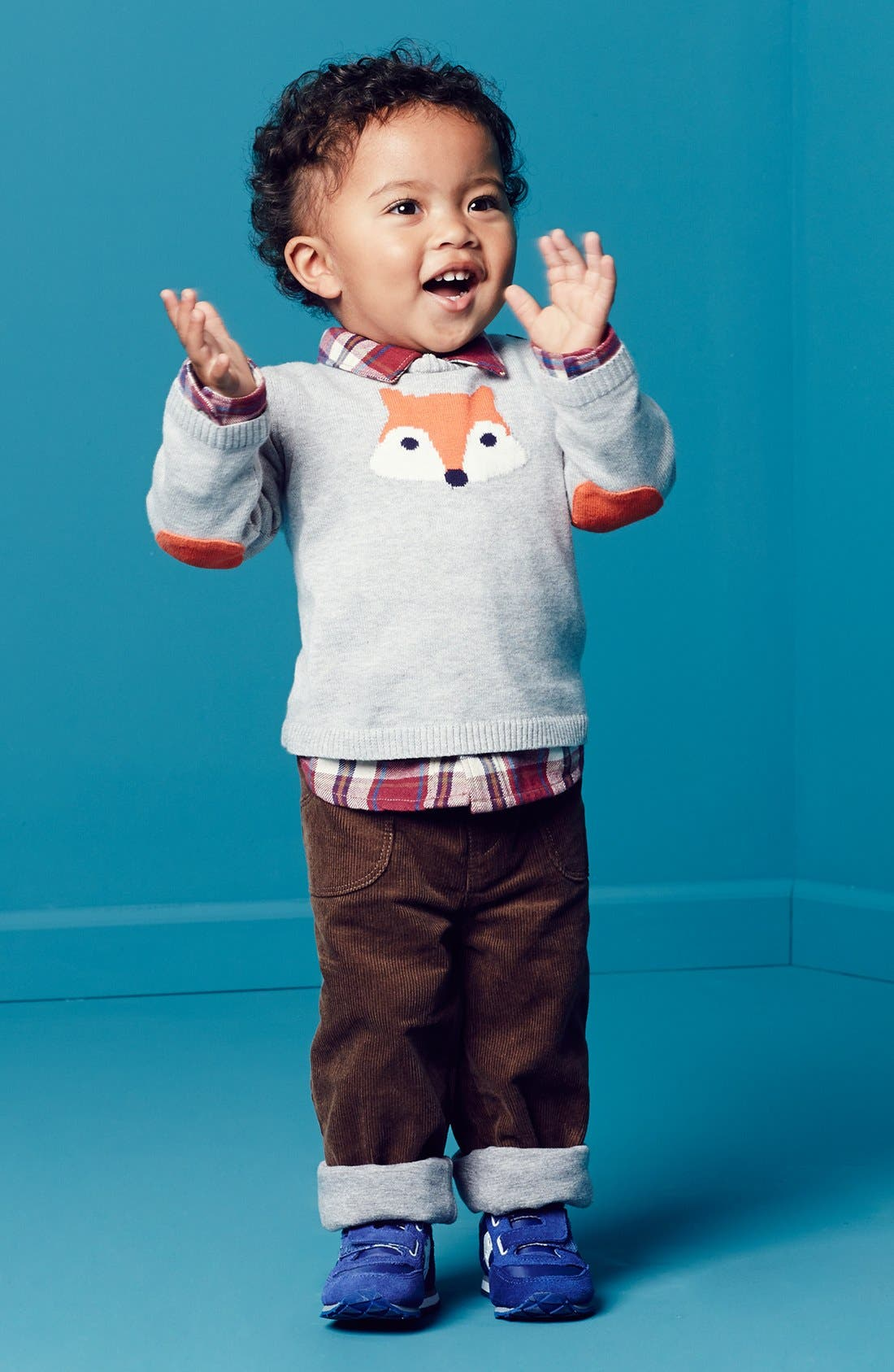 Alternate Image 2  - Nordstrom Baby Lined Corduroy Pants (Baby Boys)