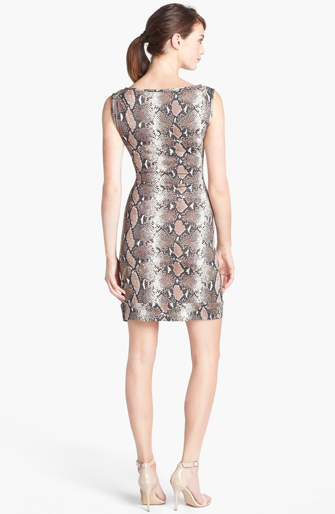Alternate Image 2  - Diane von Furstenberg 'New Della' Silk Sheath Dress