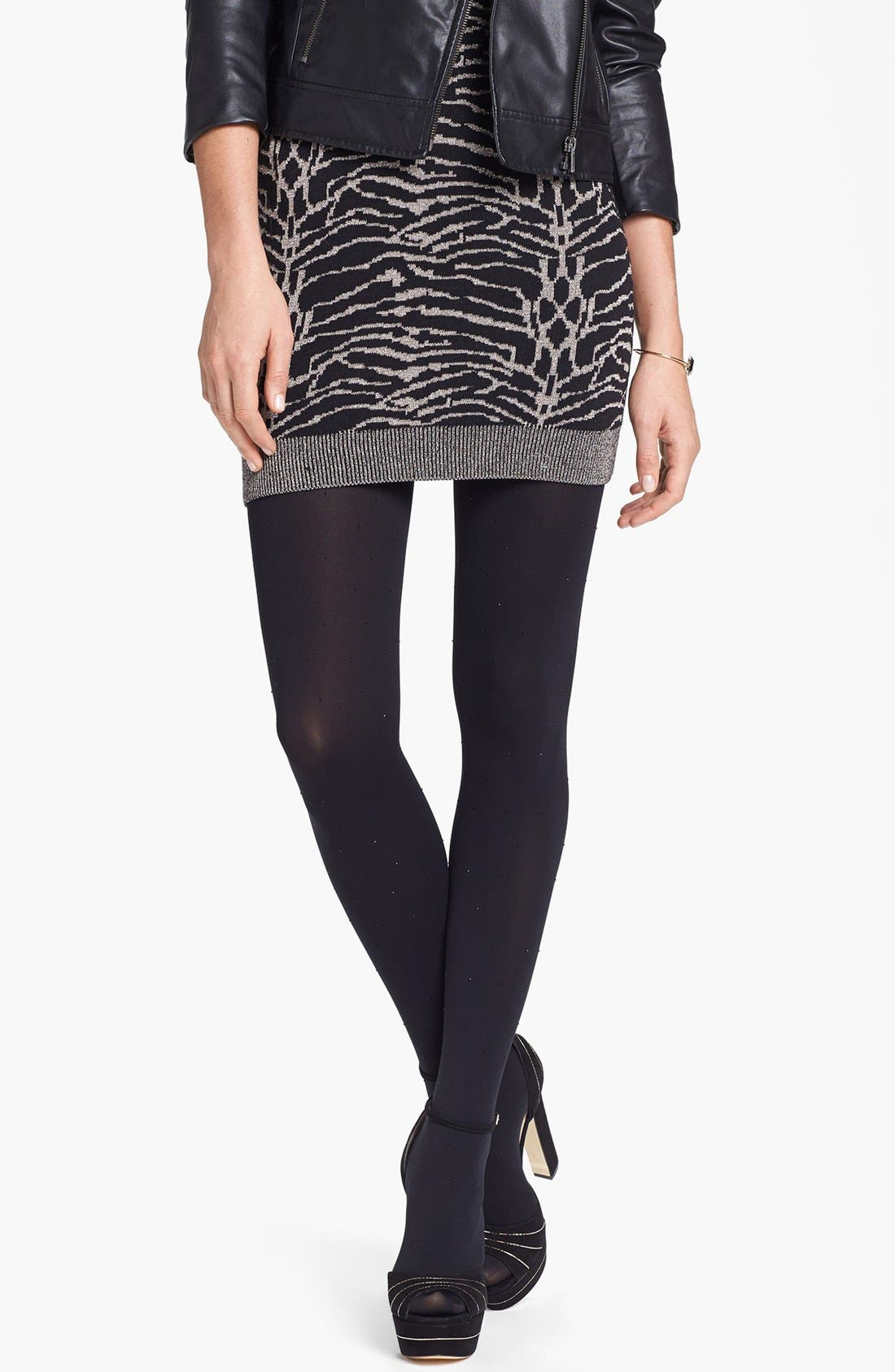 Alternate Image 1 Selected - Nordstrom Studded Tights