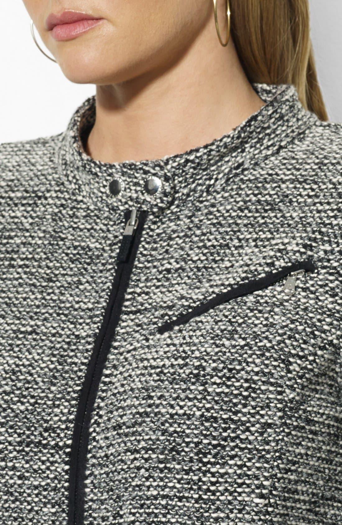 Alternate Image 3  - Lauren Ralph Lauren Zip Front Cardigan (Plus Size)