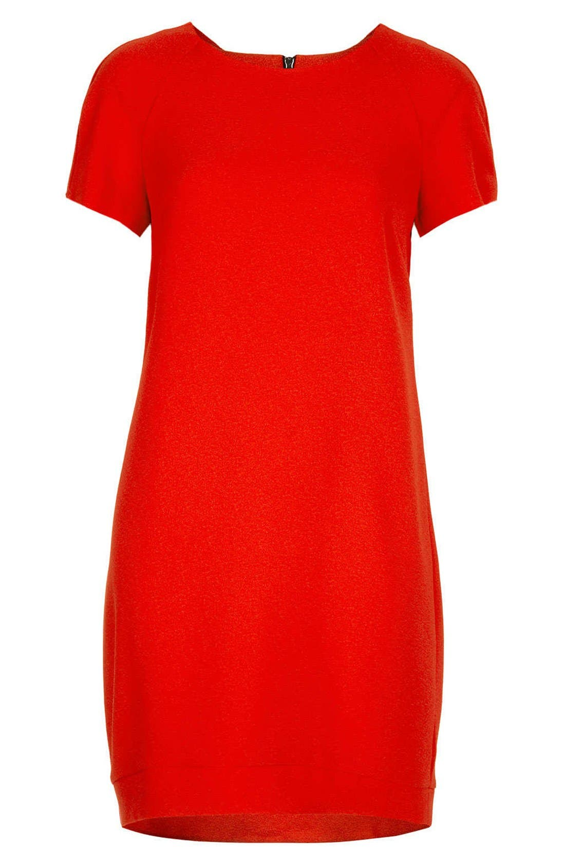 Alternate Image 3  - Topshop Crepe Shift Dress