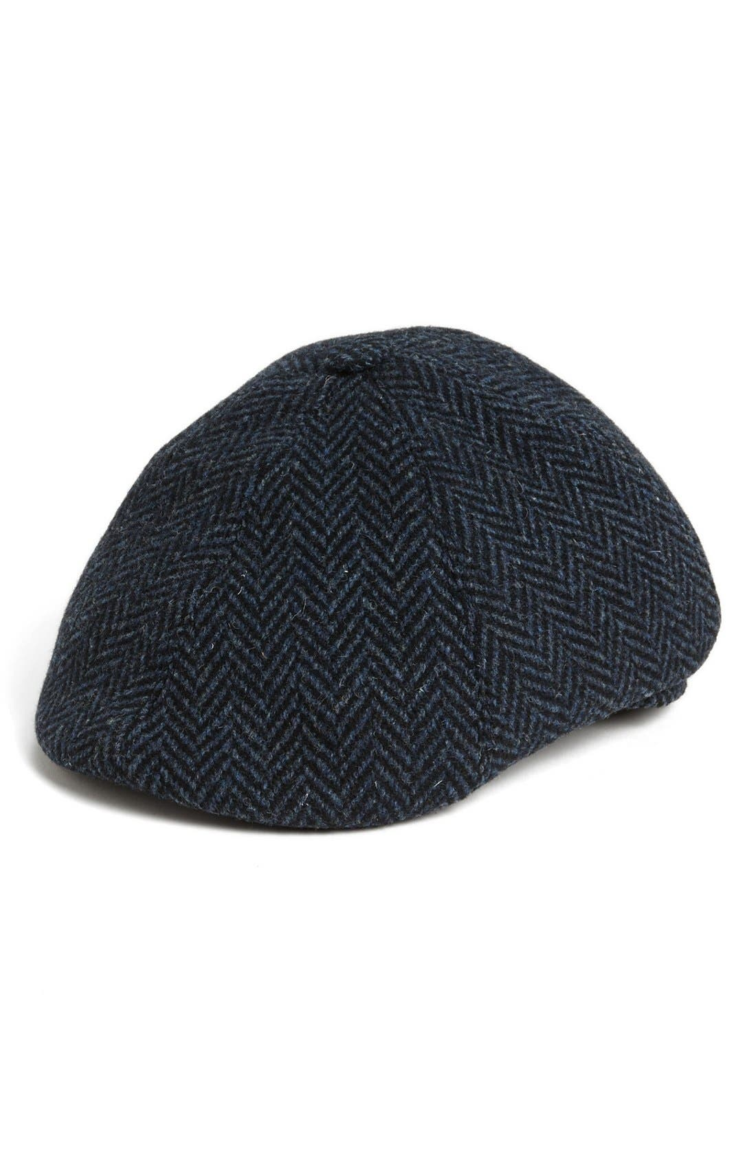 Alternate Image 1 Selected - Wigens Herringbone Driving Cap