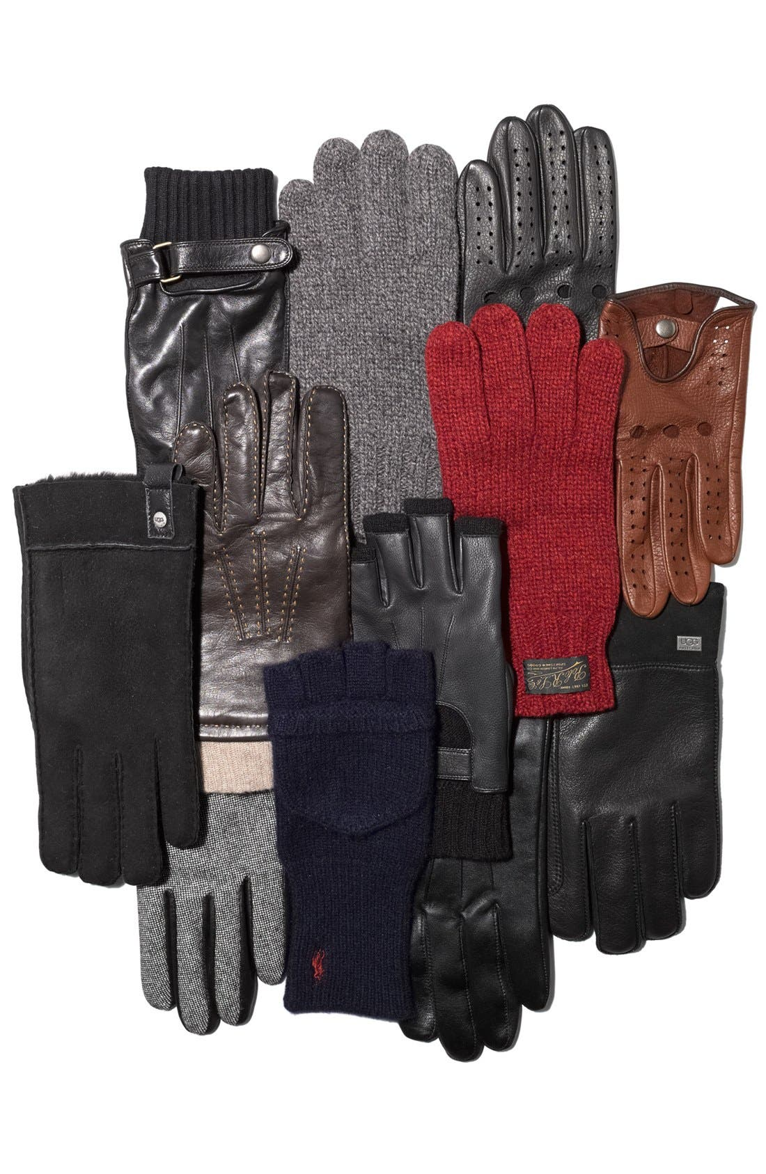 Alternate Image 2  - John W. Nordstrom® Nappa Leather Gloves