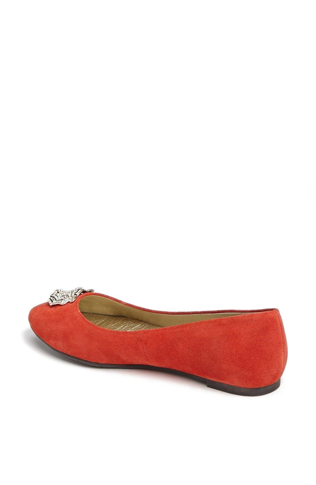 Alternate Image 2  - BC Footwear 'Tempo' Tiger Charm Flat