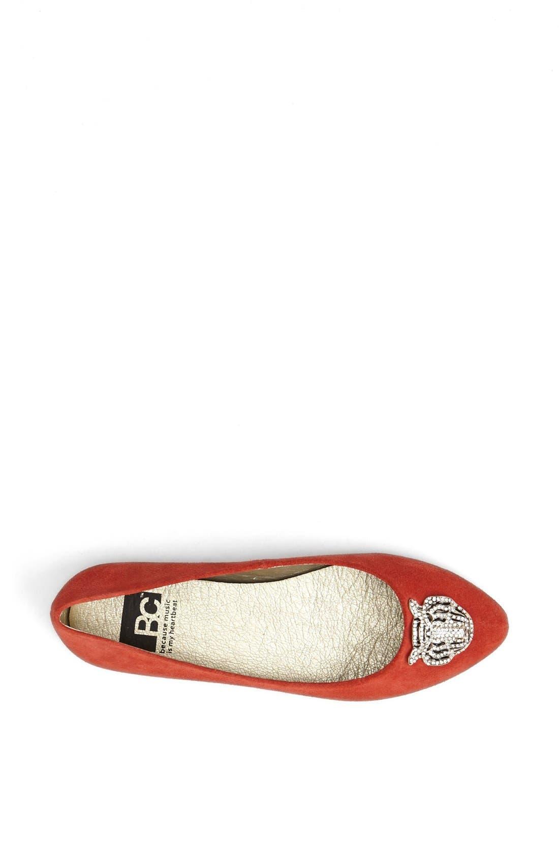 Alternate Image 3  - BC Footwear 'Tempo' Tiger Charm Flat