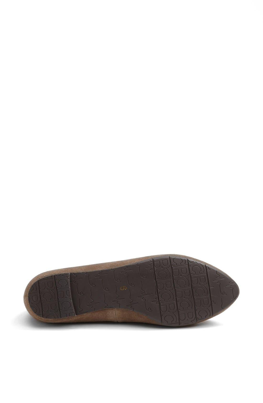 Alternate Image 4  - BC Footwear 'Tempo' Lizard Charm Flat