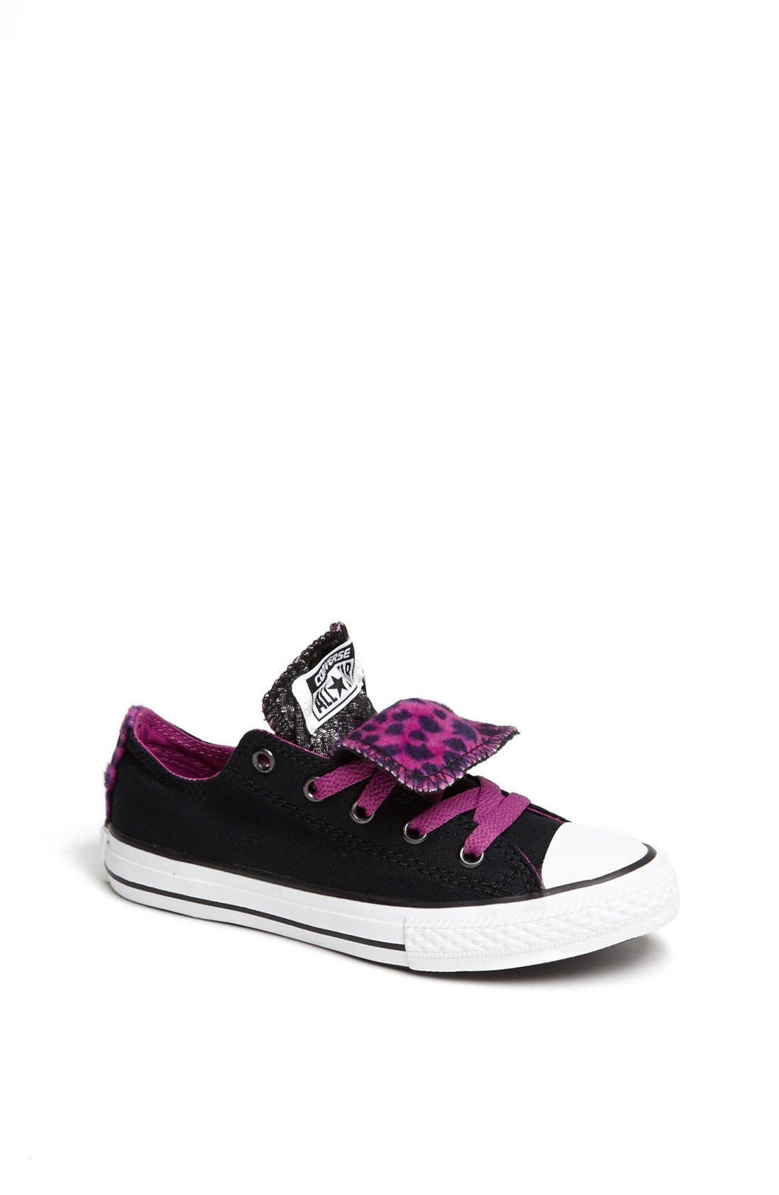 Alternate Image 1 Selected - Converse Chuck Taylor® All Star® Double Tongue Sneaker (Toddler, Little Kid & Big Kid)