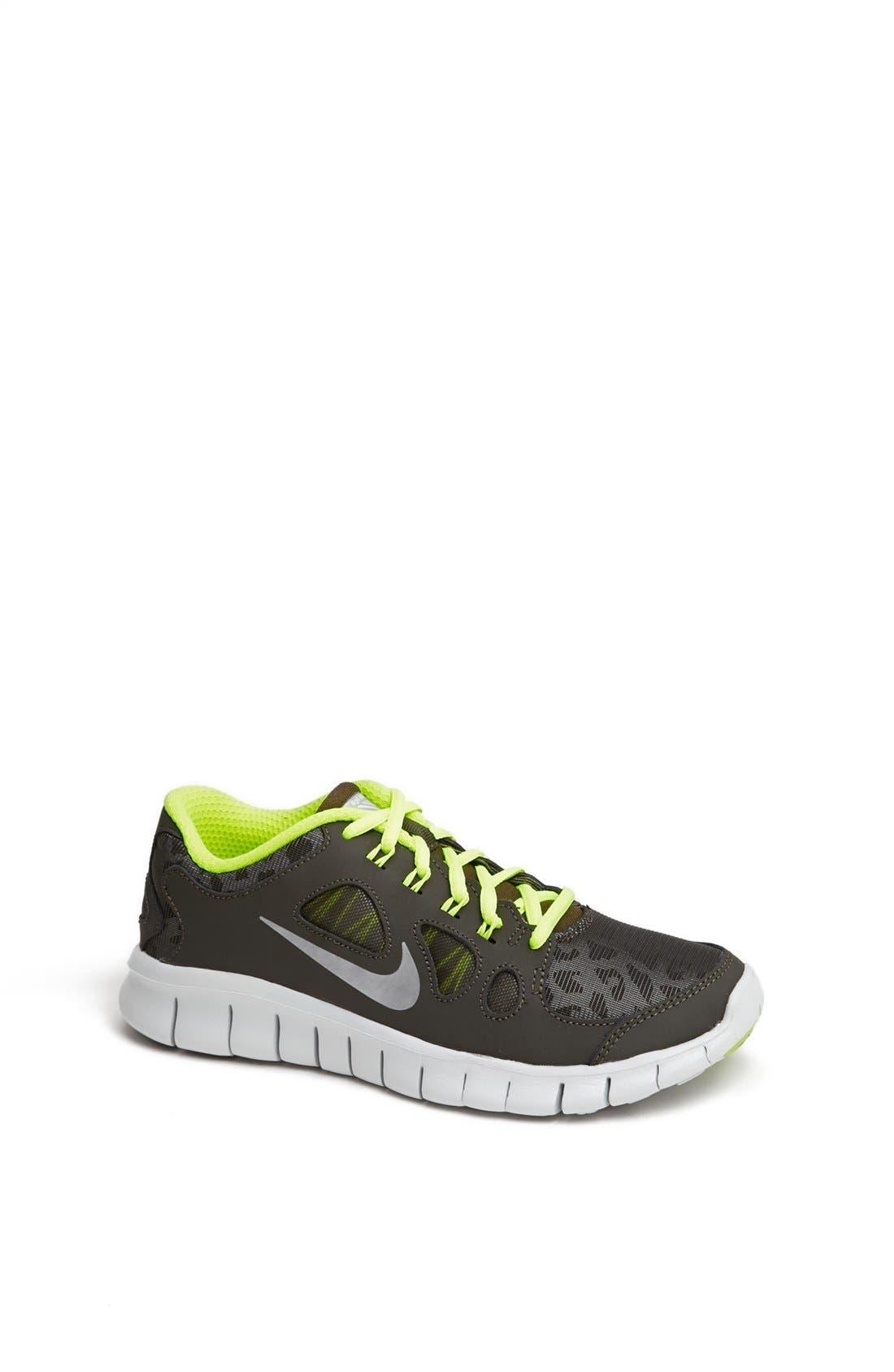 Alternate Image 1 Selected - Nike 'Free 5.0 Shield' Running Shoe (Big Kid)