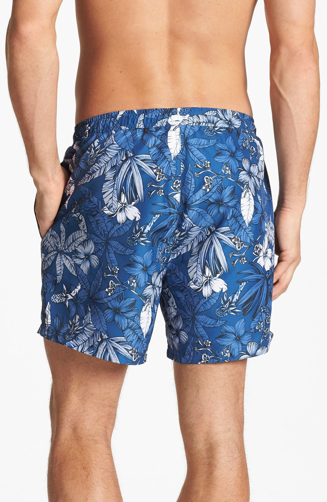 Alternate Image 2  - BOSS HUGO BOSS 'Piranha' Swim Trunks