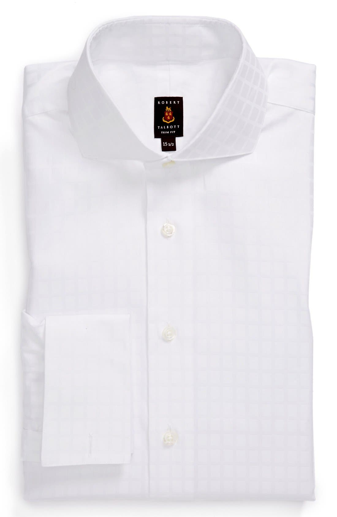 Alternate Image 1 Selected - Robert Talbott Trim Fit Dress Shirt