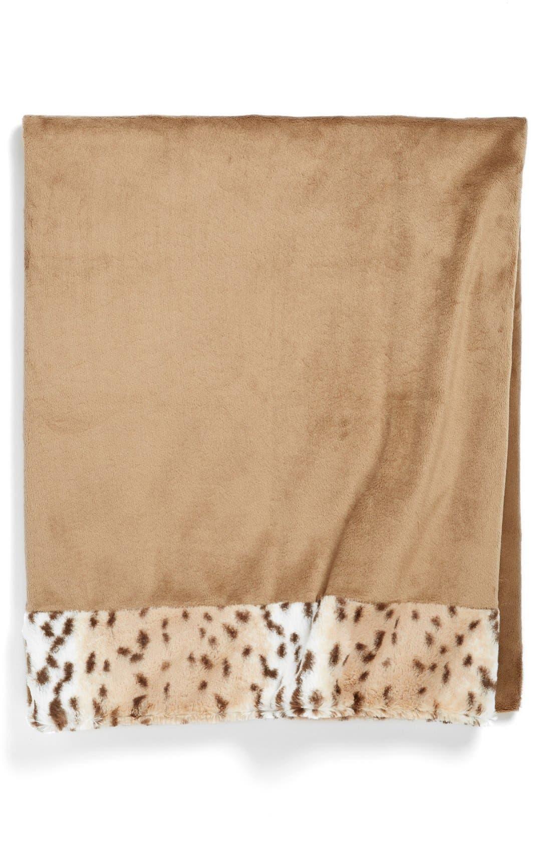 Alternate Image 1 Selected - Sonoma Lavender 'Snow Leopard' Blanket
