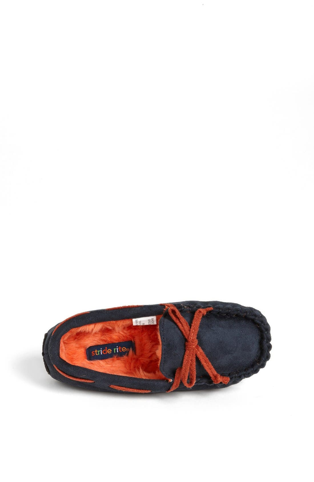 Alternate Image 3  - Stride Rite Moc Stitched Slippers (Toddler & Little Kid)