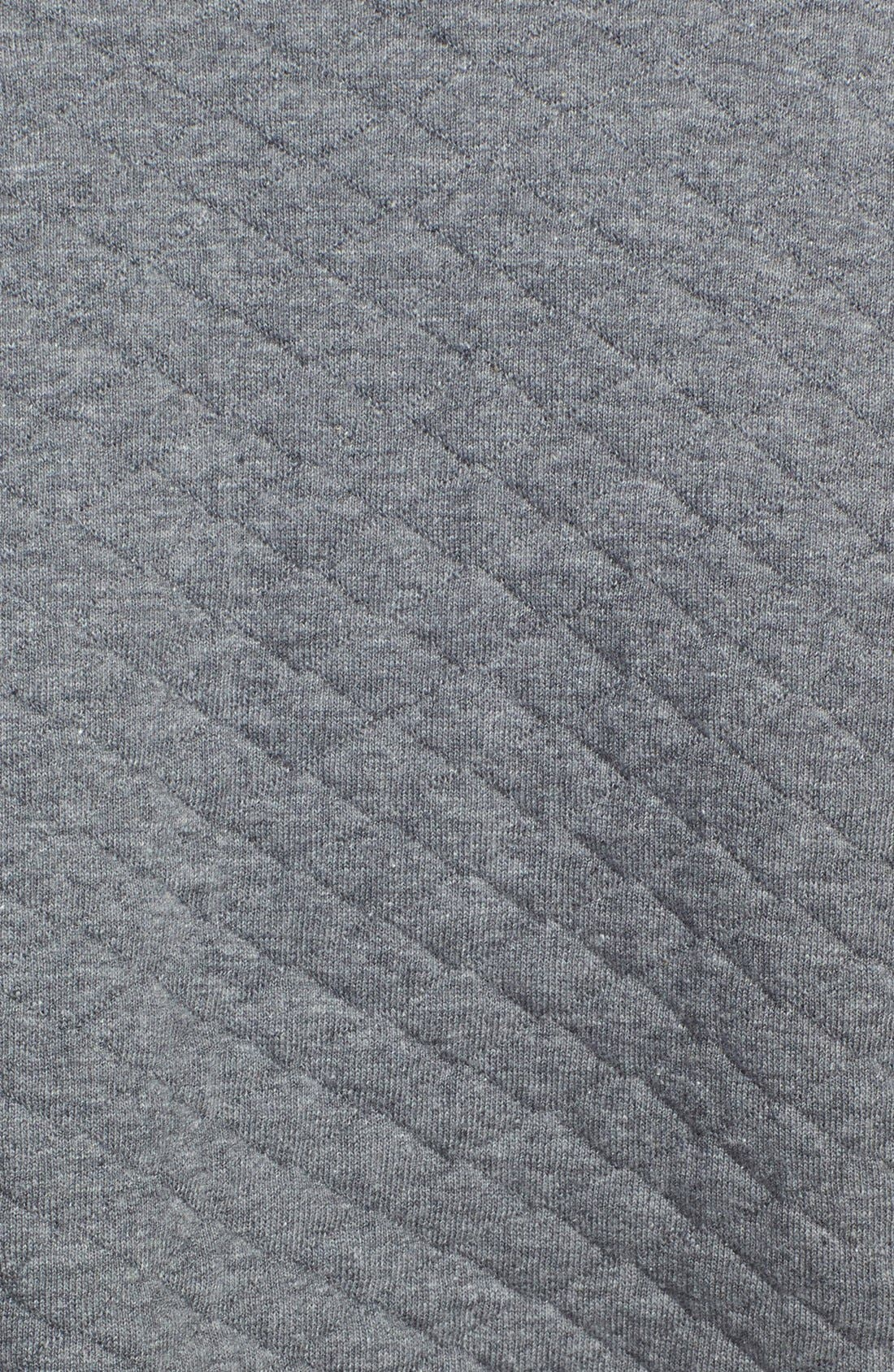 Alternate Image 3  - Caslon® Quilted Cotton Blend Knit Blazer (Regular & Petite)