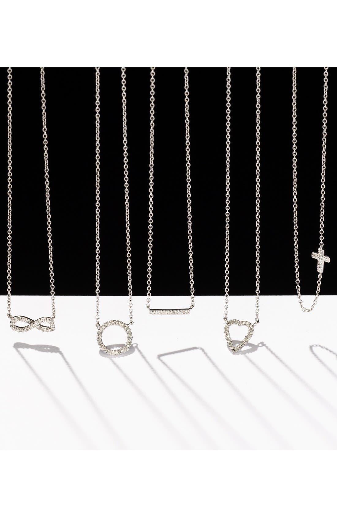 Alternate Image 4  - Adina Reyter Pavé Diamond Heart Pendant Necklace (Online Only)
