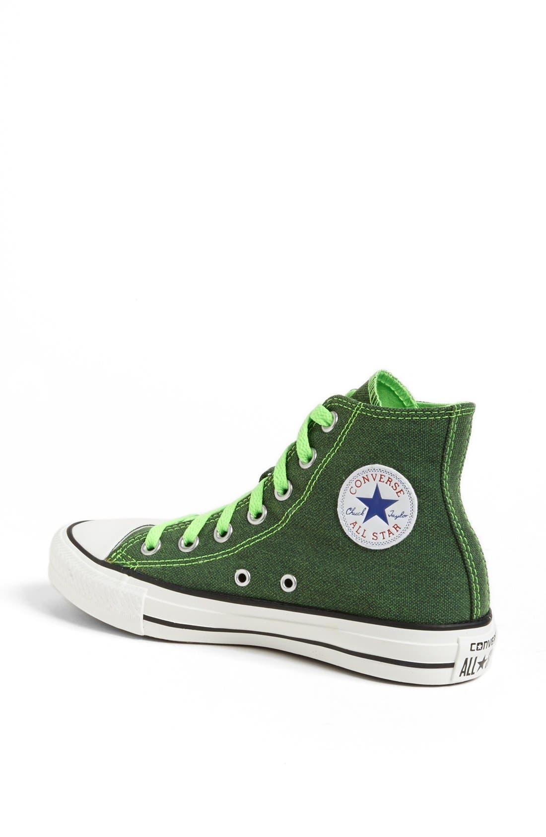 Alternate Image 2  - Converse Chuck Taylor® All Star® High Top Sneaker (Women)
