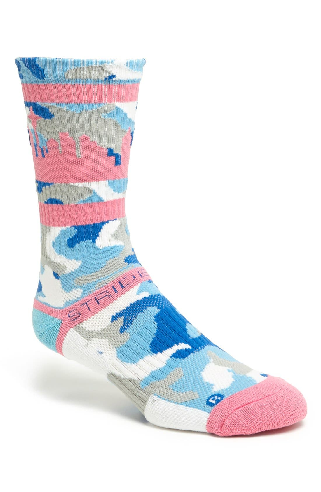 Alternate Image 1 Selected - STRIDELINE 'Seattle' Socks