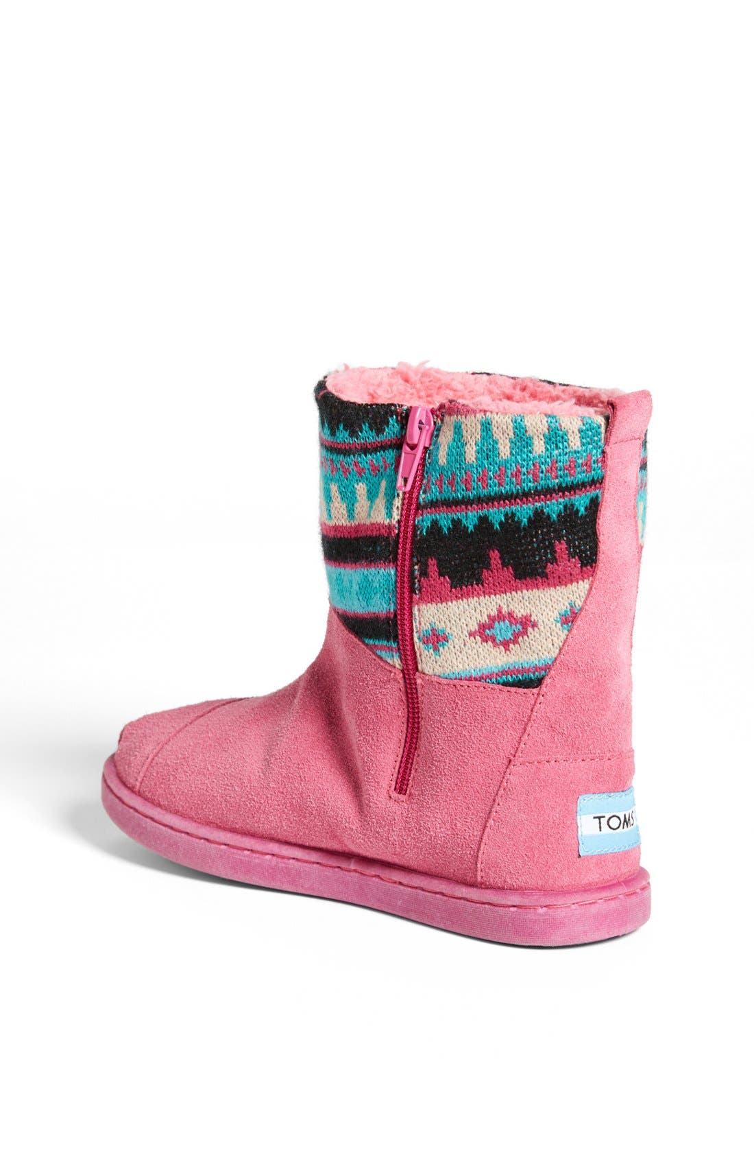 Alternate Image 2  - TOMS 'Nepal - Youth' Knit Shaft Boot (Toddler, Little Kid & Big Kid)