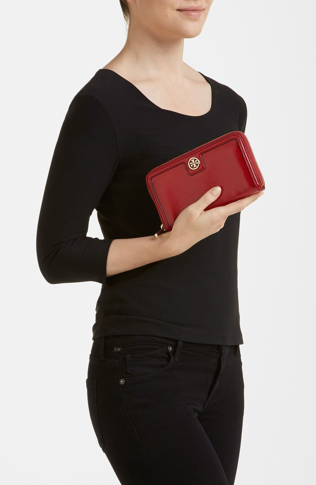 Alternate Image 4  - Tory Burch Continental Wallet