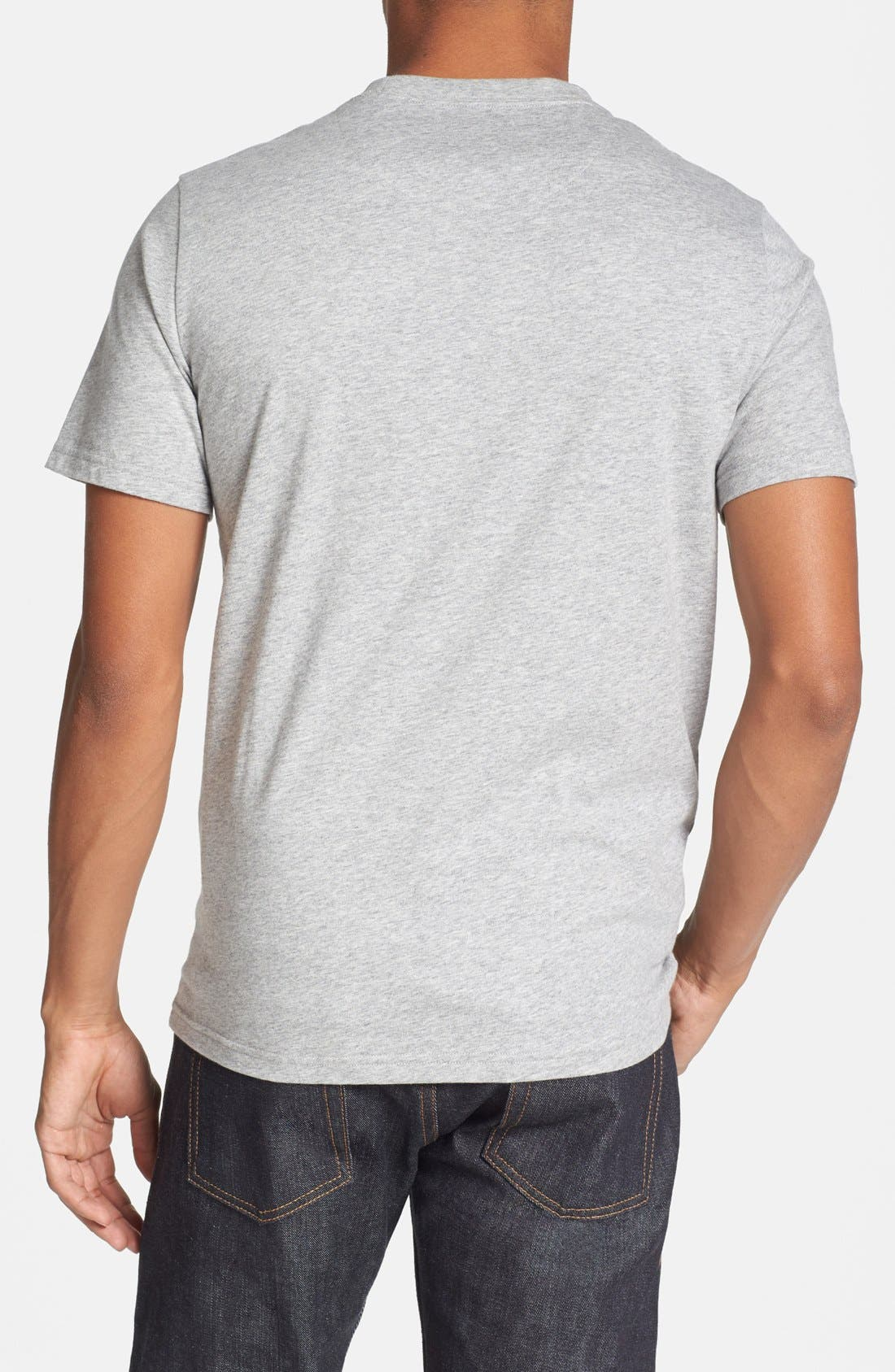 Alternate Image 2  - Fred Perry Pattern Pocket Slim Fit T-Shirt