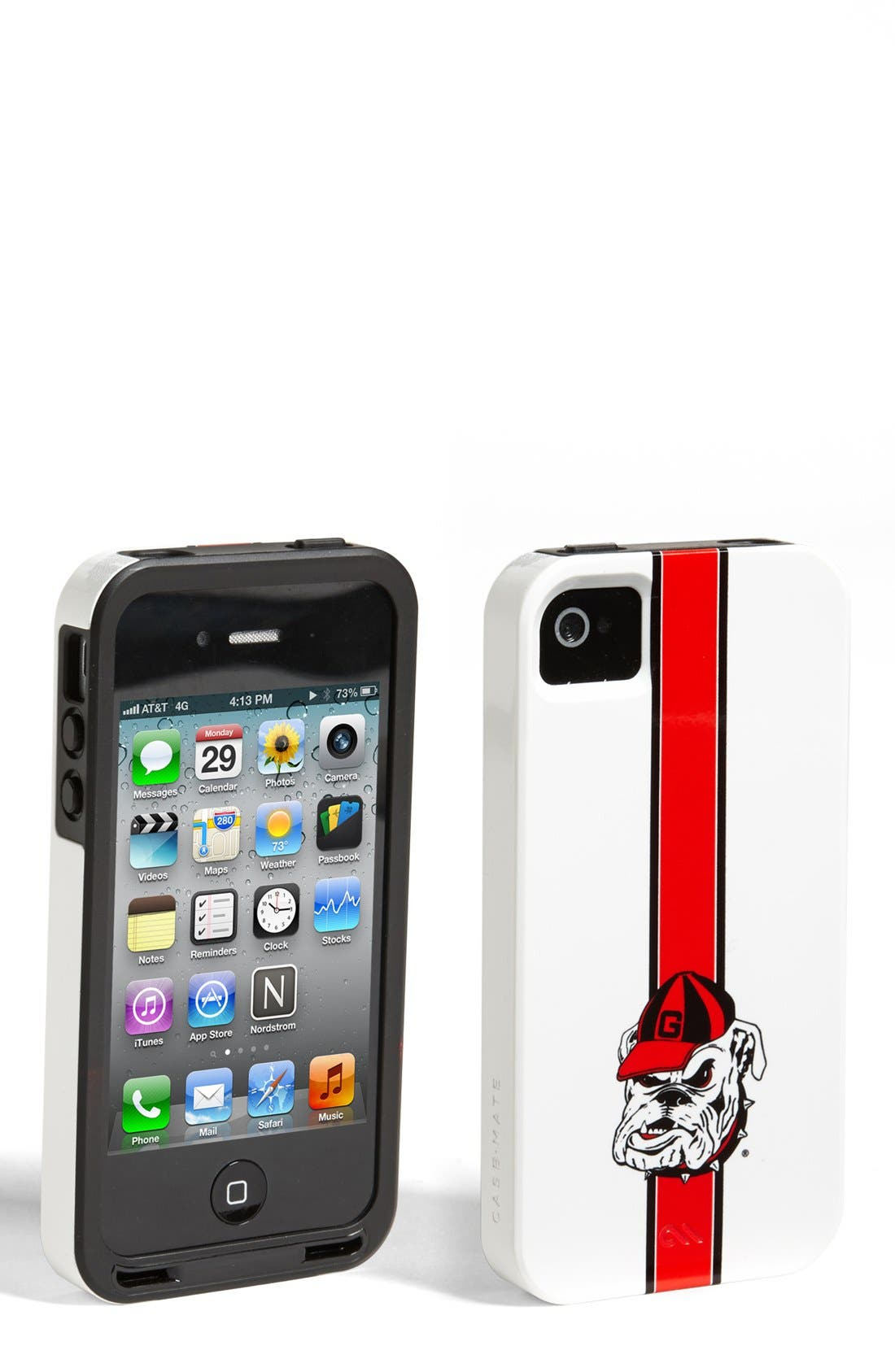 Alternate Image 1 Selected - Case-Mate® 'Georgia Bulldogs' iPhone 4 & 4s Case